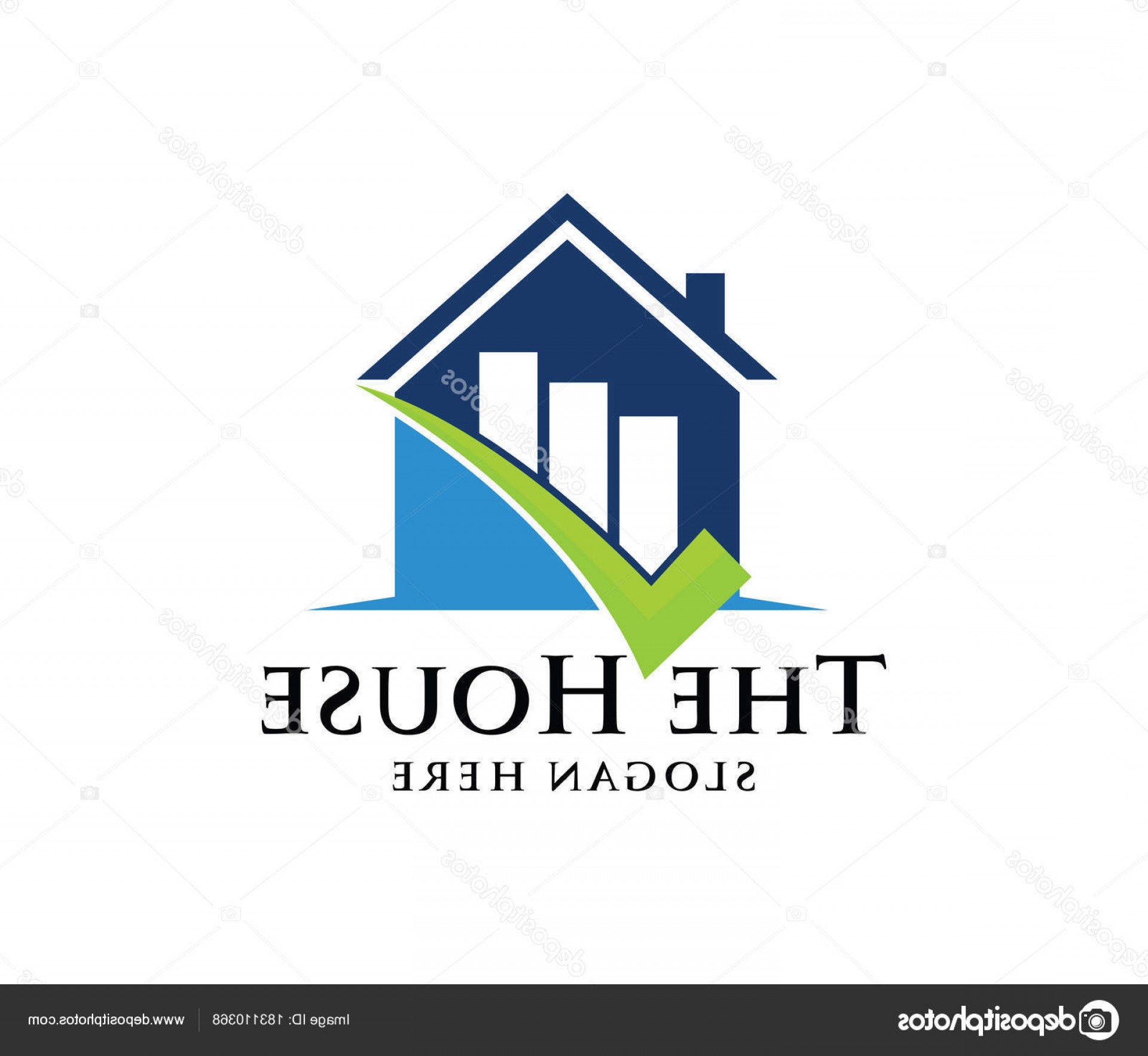 Home Logo Vector: Stock Illustration Vector Logo Design House Home