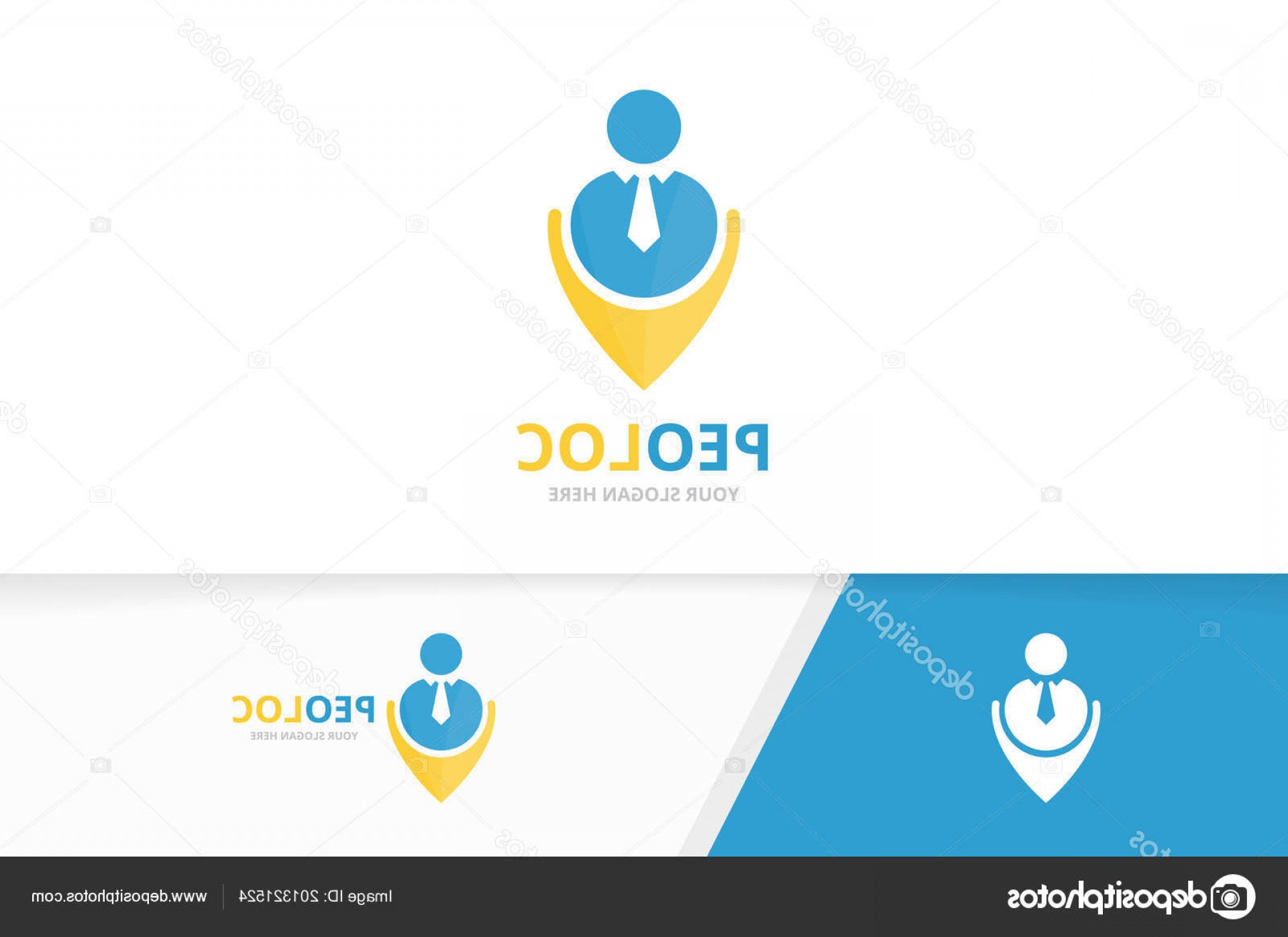 Unique Pointer Vector: Stock Illustration Vector Man And Map Pointer