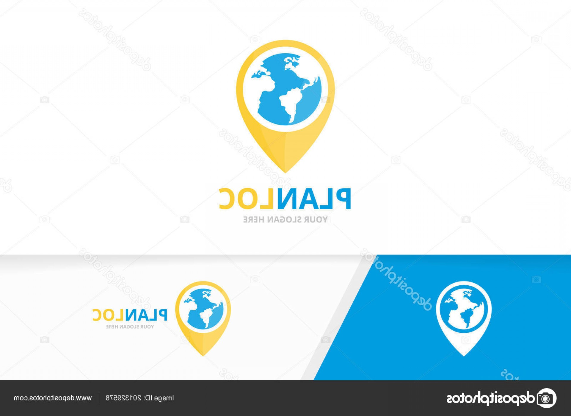 Unique Pointer Vector: Stock Illustration Vector World And Map Pointer