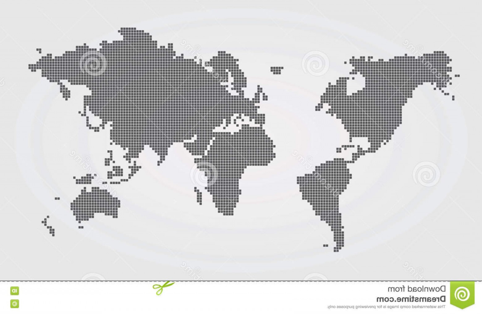 Asia Continent Map Vector: Stock Illustration World Map Continents Vector Icon Image