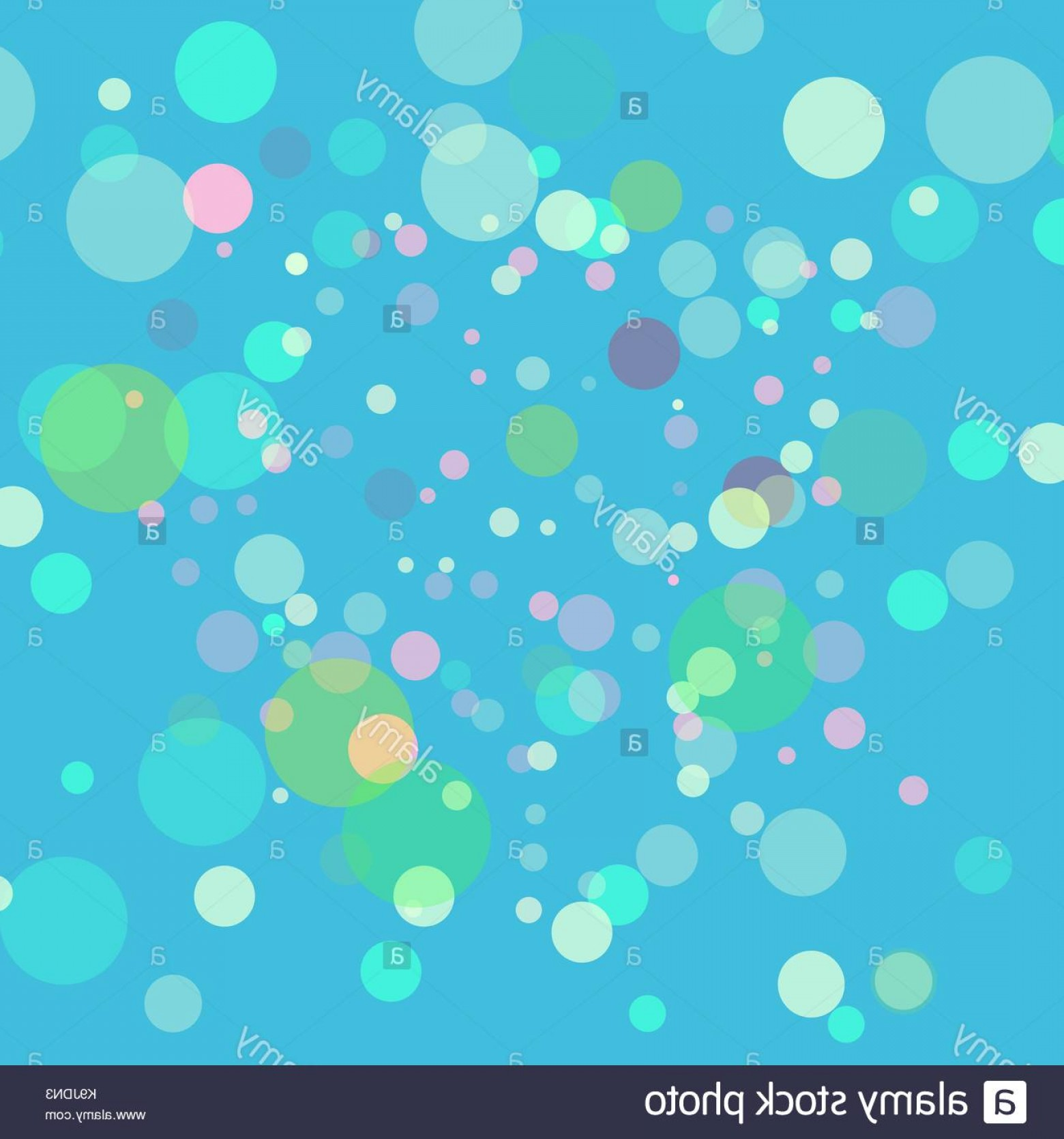 EPS Vector Soap Bubbles: Stock Image Abstract Vector Green Background Multicolored Blurred Lights With