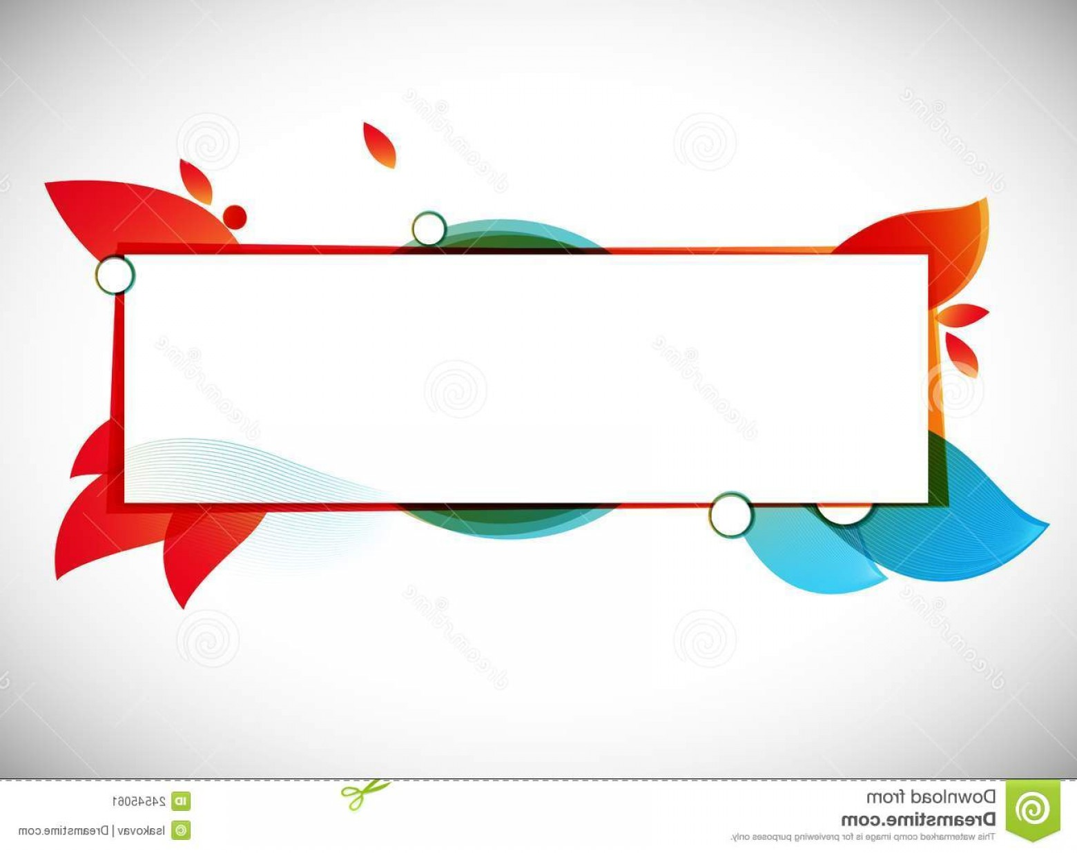 Text Illustrator Vector: Stock Image Color Abstract Vector Background Text Frame Image
