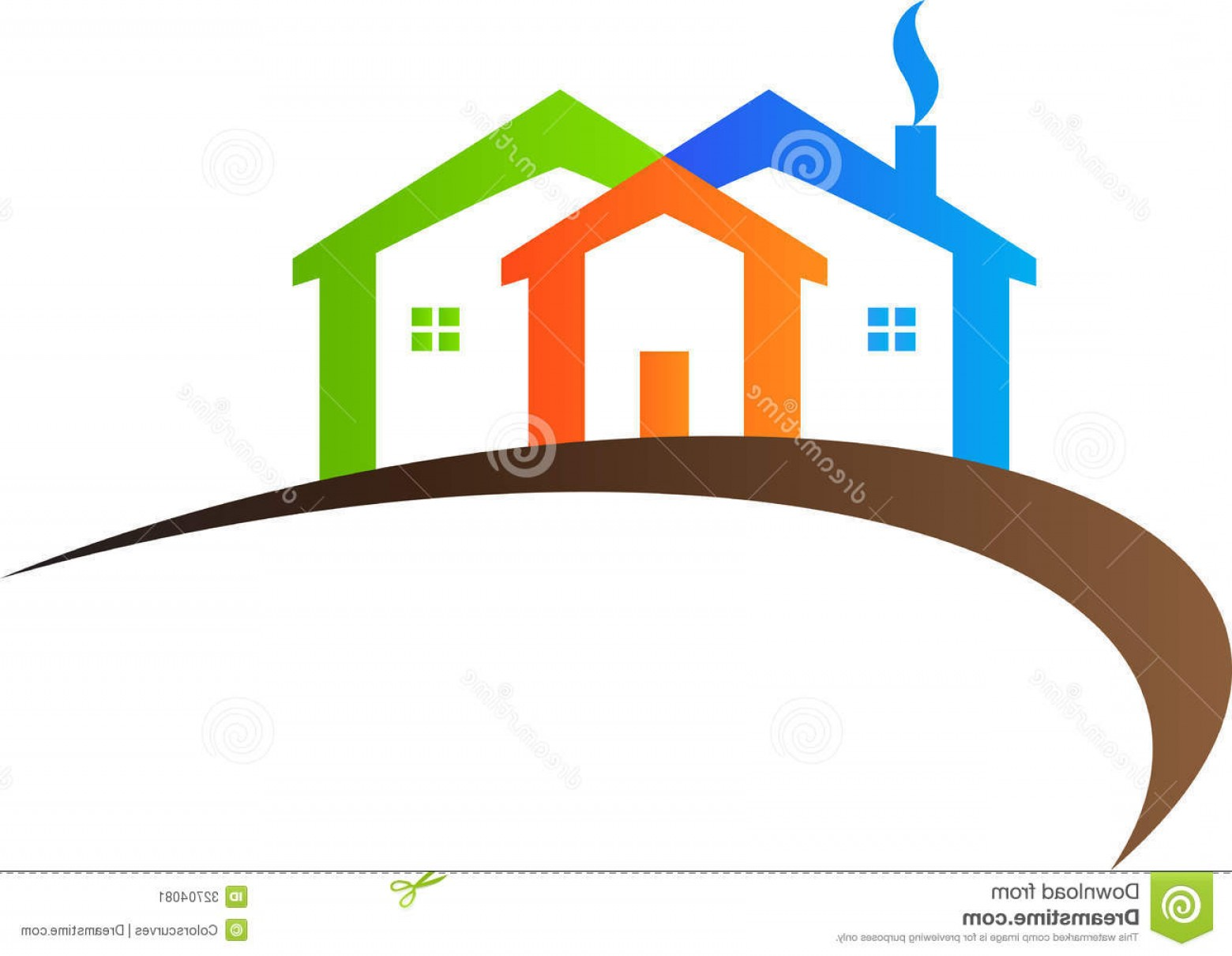 Home Logo Vector: Stock Image Home Logo Vector Drawing Represents Design Image