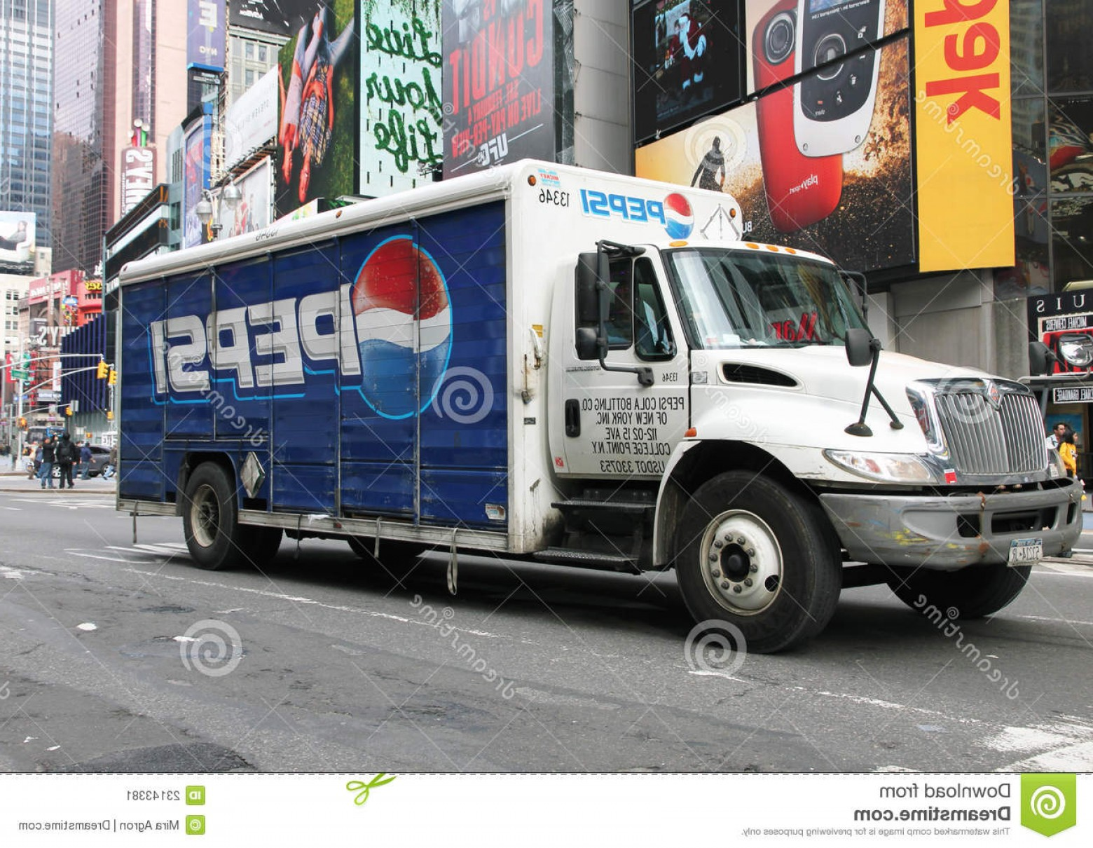 Pepsi Peace Signs Vector: Stock Image Pepsi Delivery Truck Image