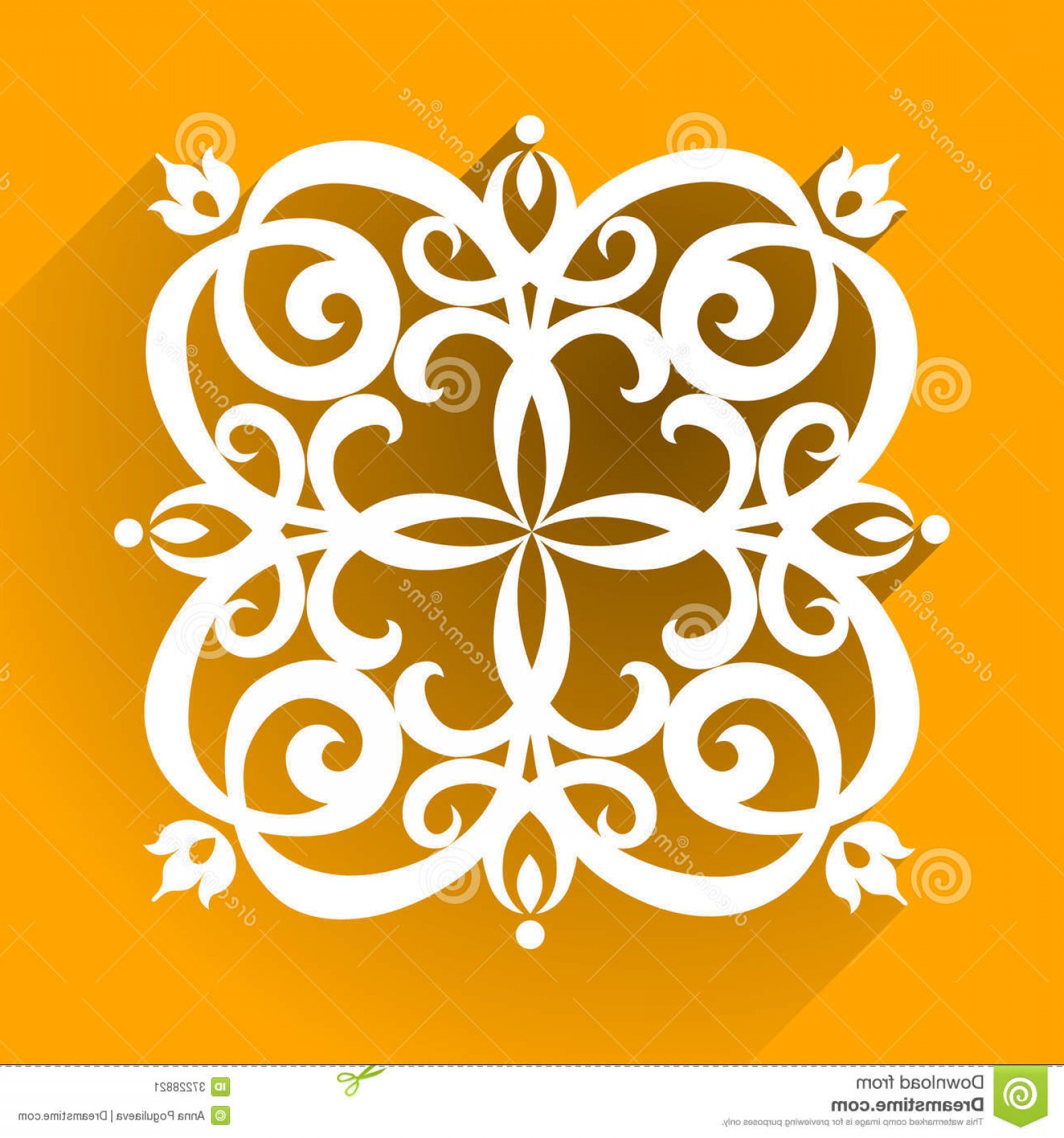 Victorian Ornamental Designs Vector: Stock Image Vector Victorian Ornament Flat Design Style Ornate Element Toolkit Designer Can Be Used Decorating Image