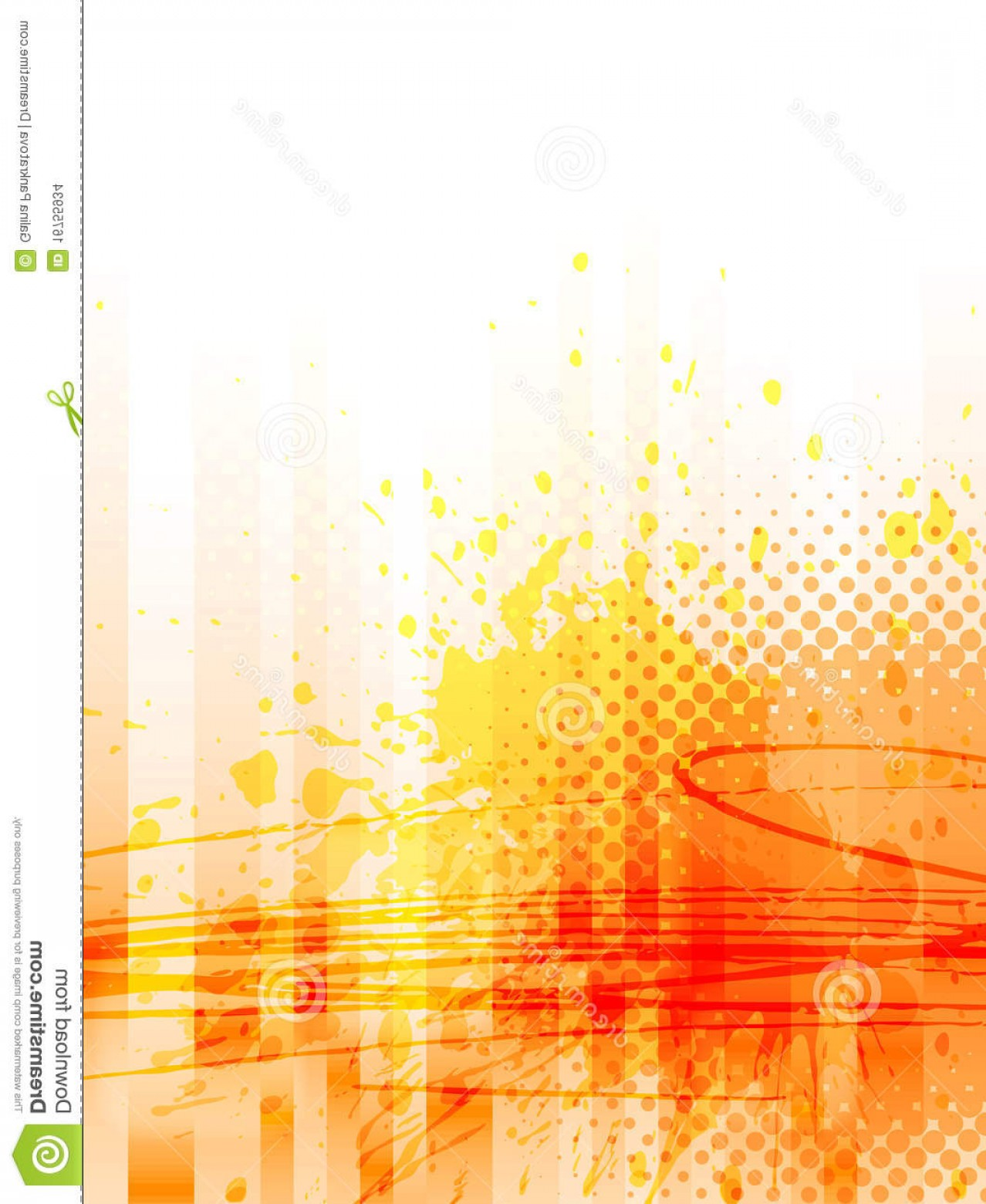 Grunge Background Vector Graphic: Stock Images Abstract Grunge Background Vector Image