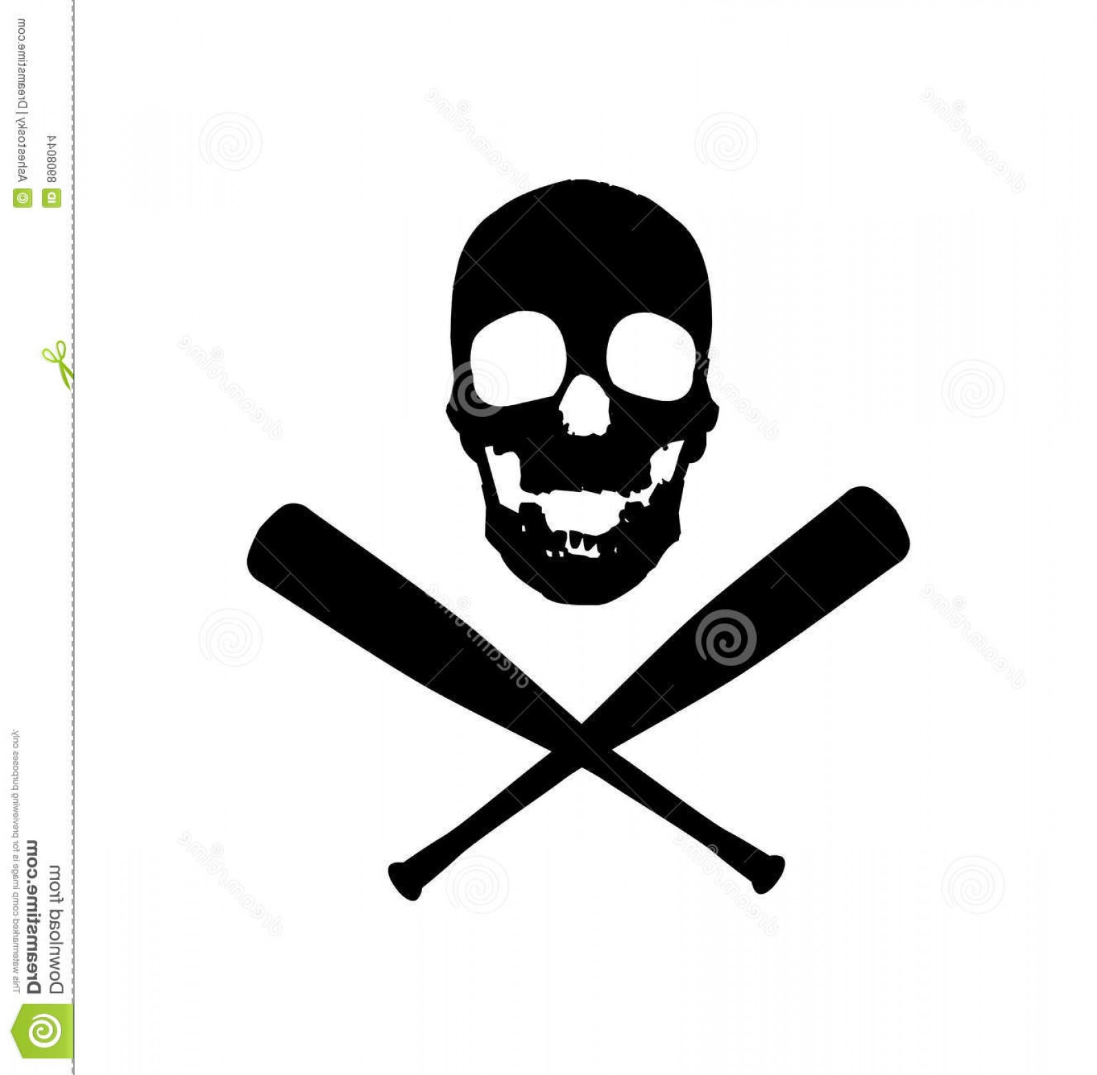 Vector Baseball Cross: Stock Images Baseball Pirates Vector Design Image
