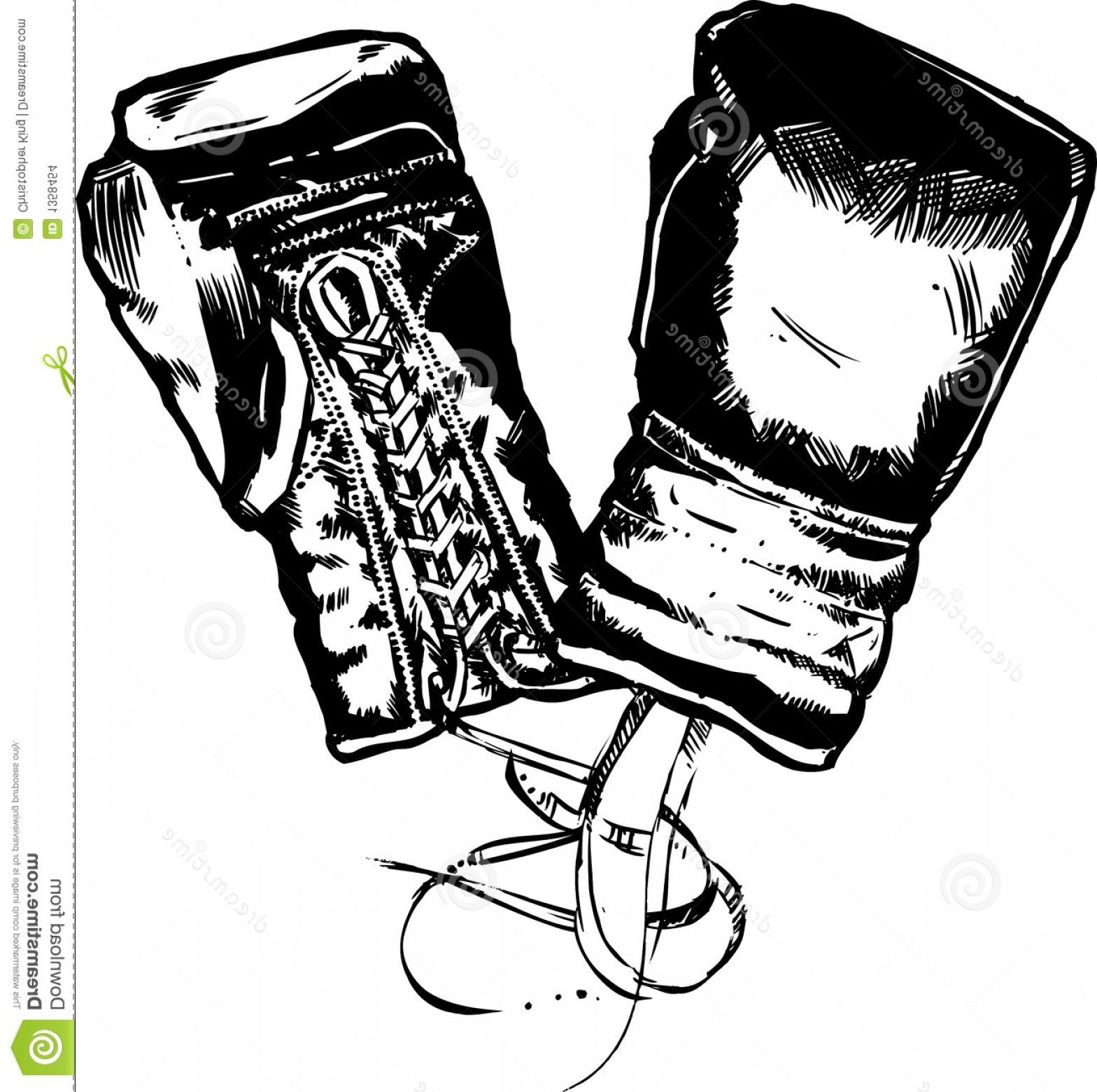 Pictures Of Boxing Gloves Vector Art: Stock Images Boxing Gloves Vector Illustration Image