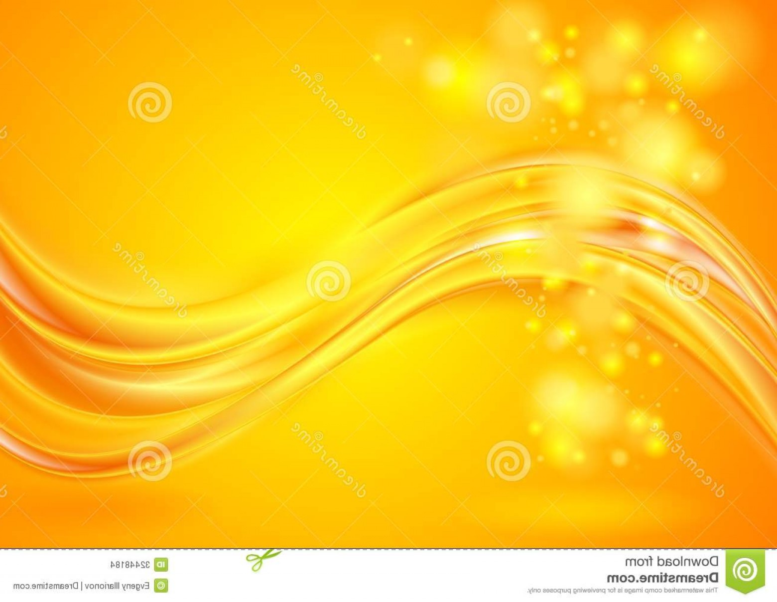 Vector Abstract Elegant Design: Stock Images Bright Yellow Wavy Background Abstract Elegant Design Vector Eps Image