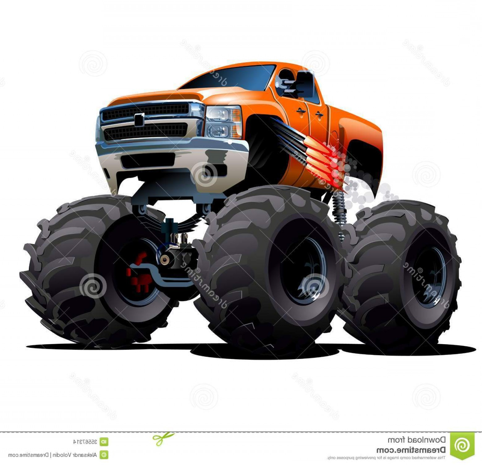 Hot Wheels Vector Art: Stock Images Cartoon Monster Truck Vector Available Eps Vector Format Separated Groups Layers Easy Edit Image