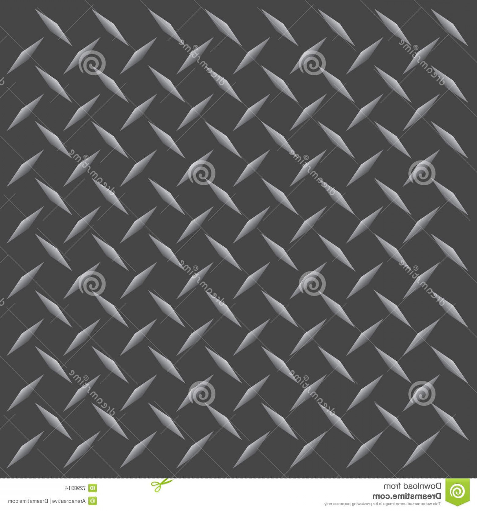 Diamond Plate Vector Pattern: Stock Images Diamond Plate Vector Image
