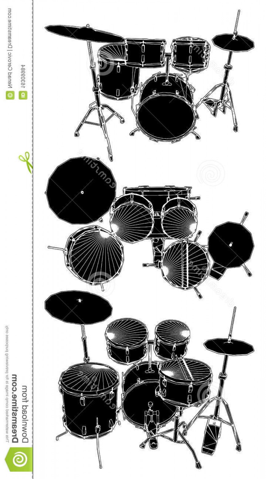 Drum Vector Art: Stock Images Drums Vector Image