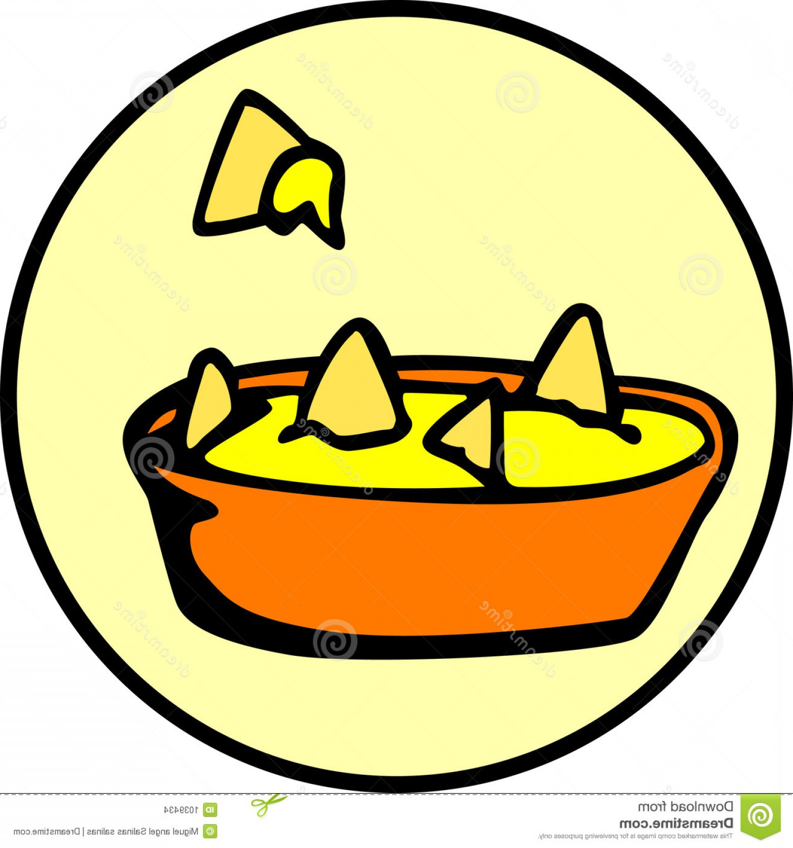 Chips Queso Vector: Stock Images Nachos Cheese Snack Vector File Available Image