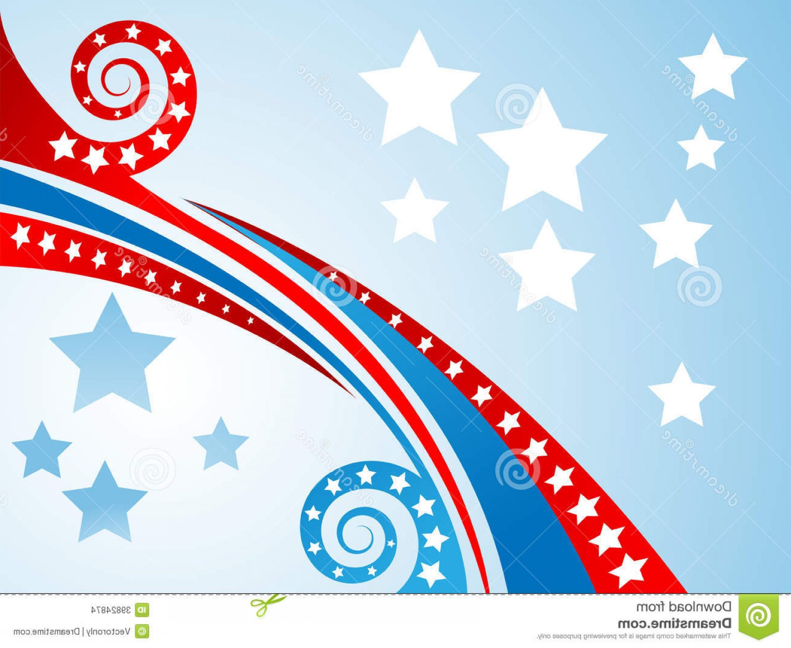 Vector Background Clip Art: Stock Images Patriotic Background Vector Illustration Image