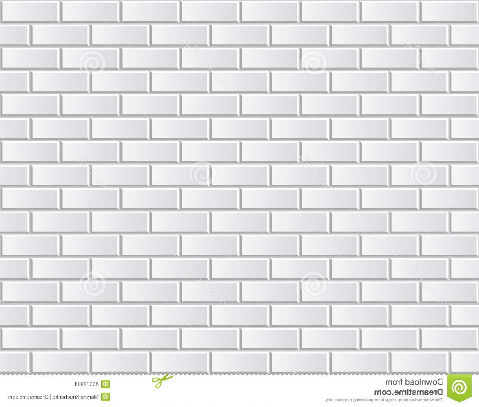 Wall Background Vector: Stock Images Seamless Vector White Brick Wall Background Pattern Illustration Texture Continuous Replicate Image
