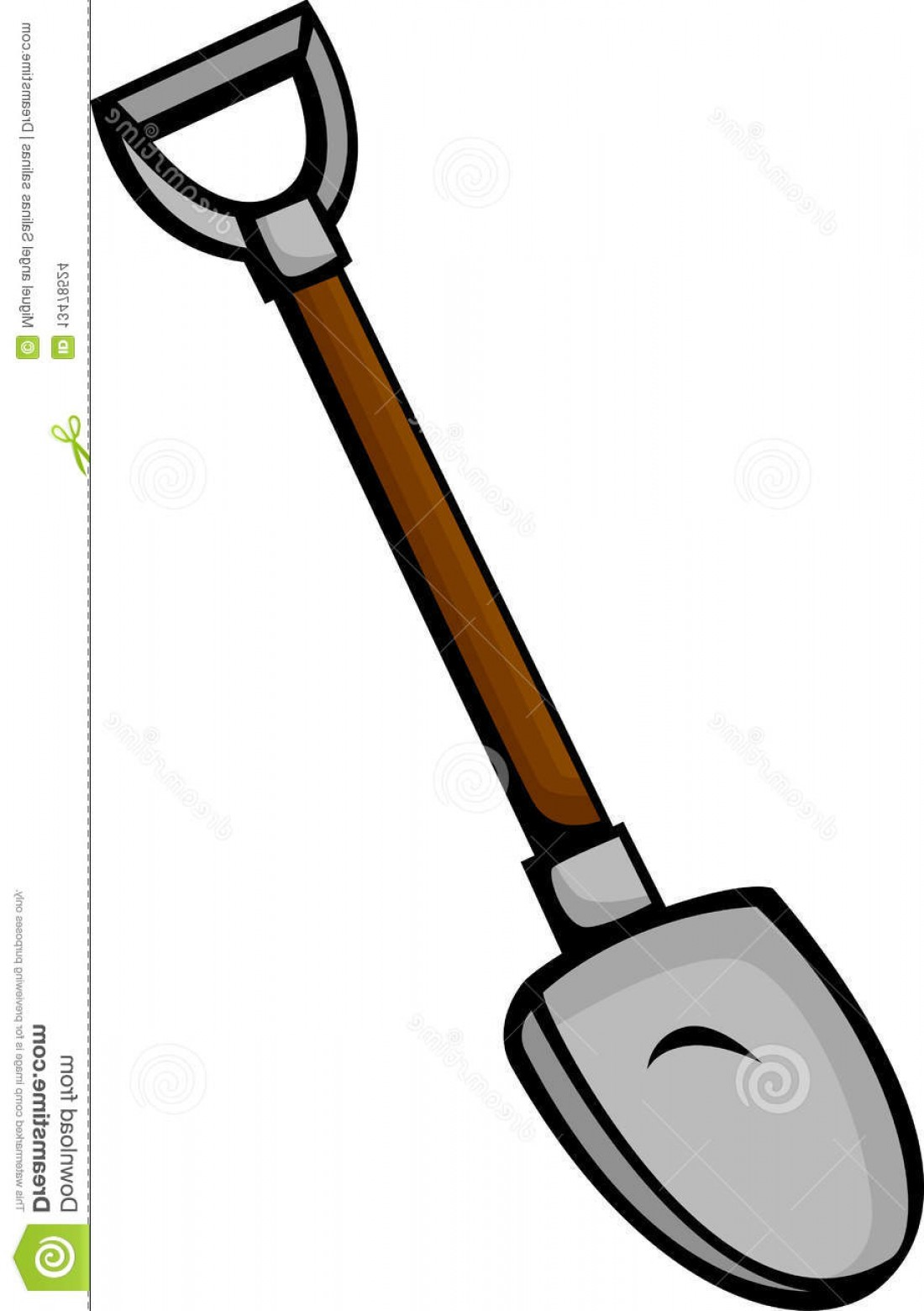 Shovel Vector: Stock Images Shovel Vector Illustration Image