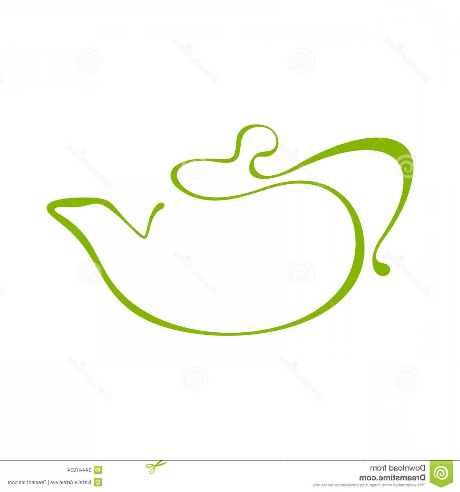 Tea Pot Vector: Stock Images Teapot Icon Illutration Vector Image