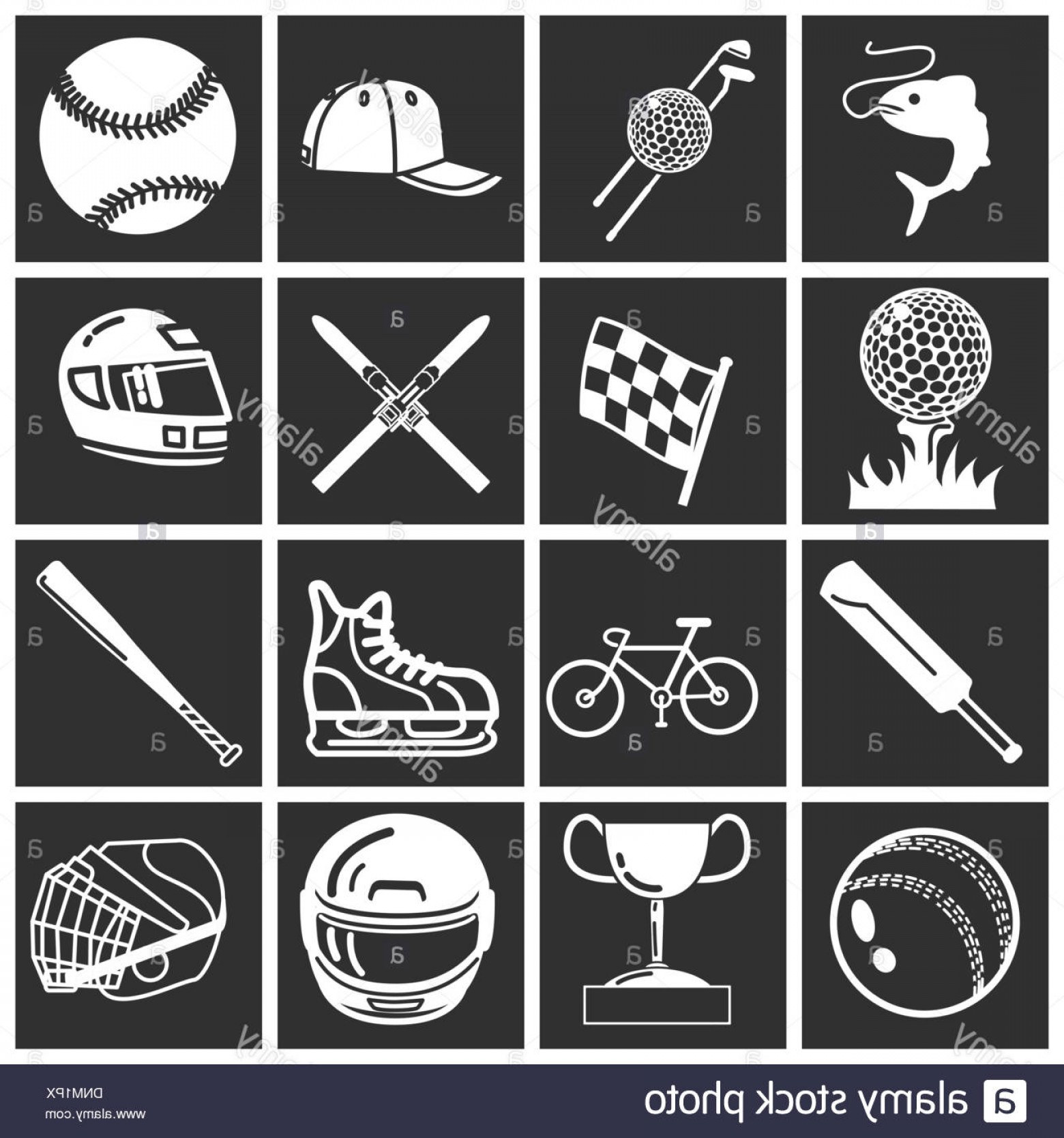 Illustrator Vector Format: Stock Photo A Set Of Sports Icons Design Elements Vector Art In Adobe Illustrator