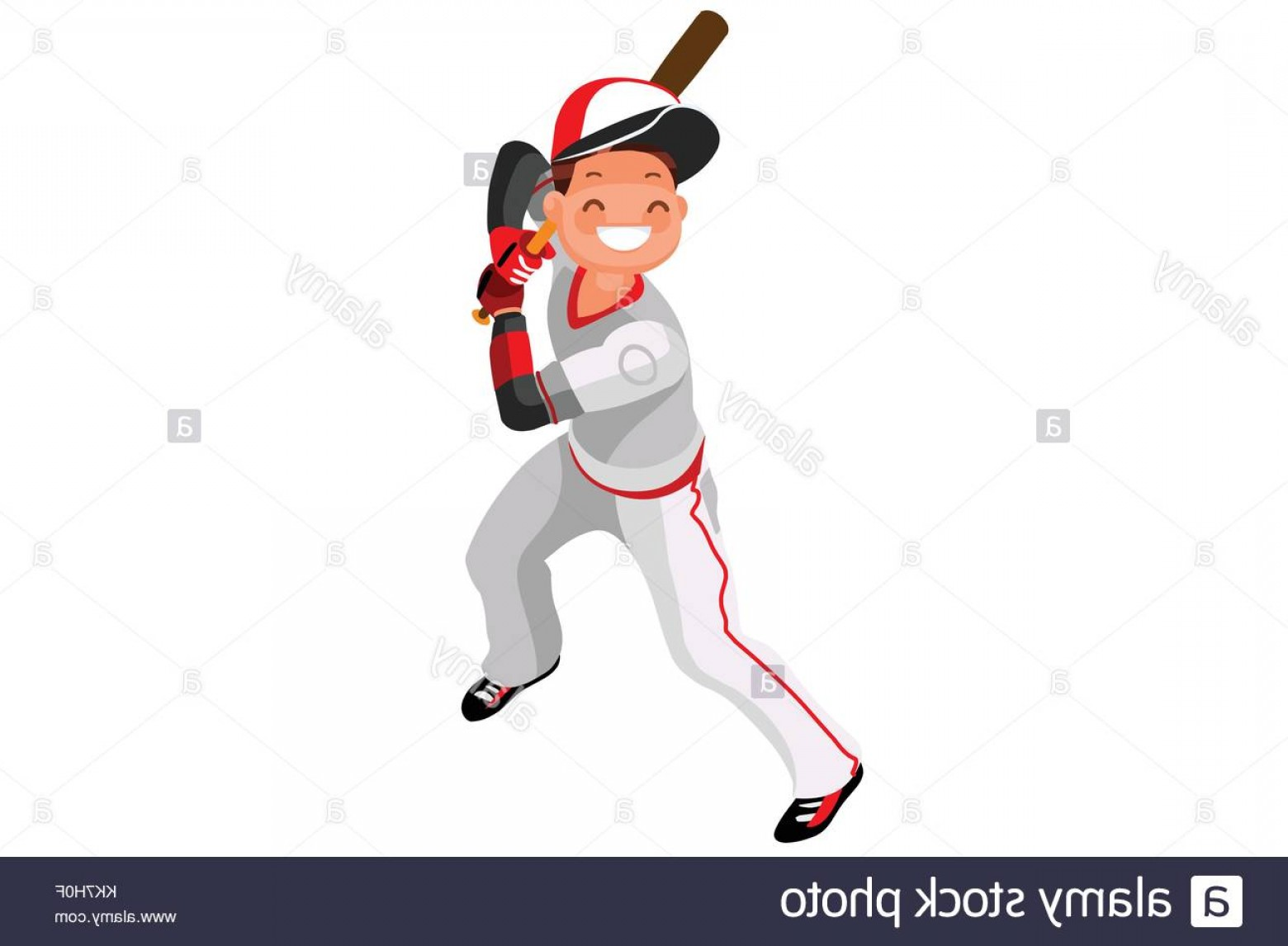 MLB Vectors: Stock Photo Background Of Baseball With Vector Mascotte Sport Poster With Mlb