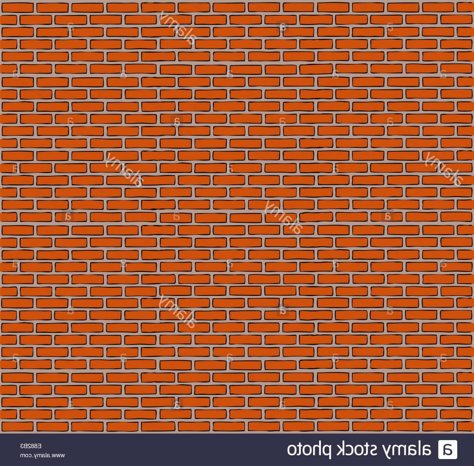 Wall Background Vector: Stock Photo Cartoon Brick Wall Background Vector Illustration