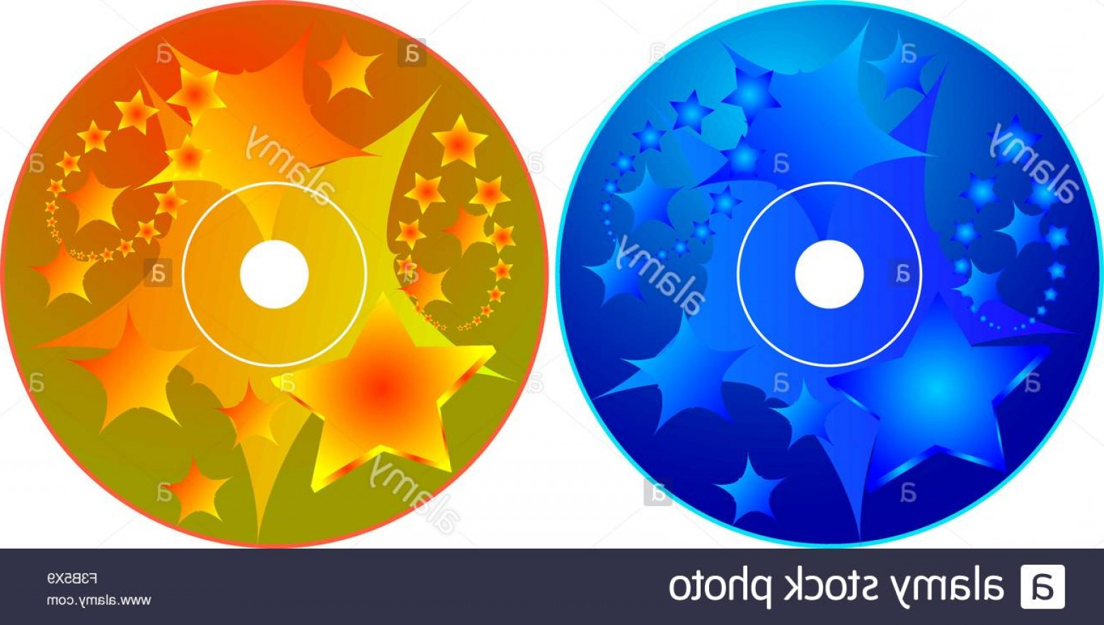 CD Label Template Vector: Stock Photo Cd Dvd Label Design Template Vector Art