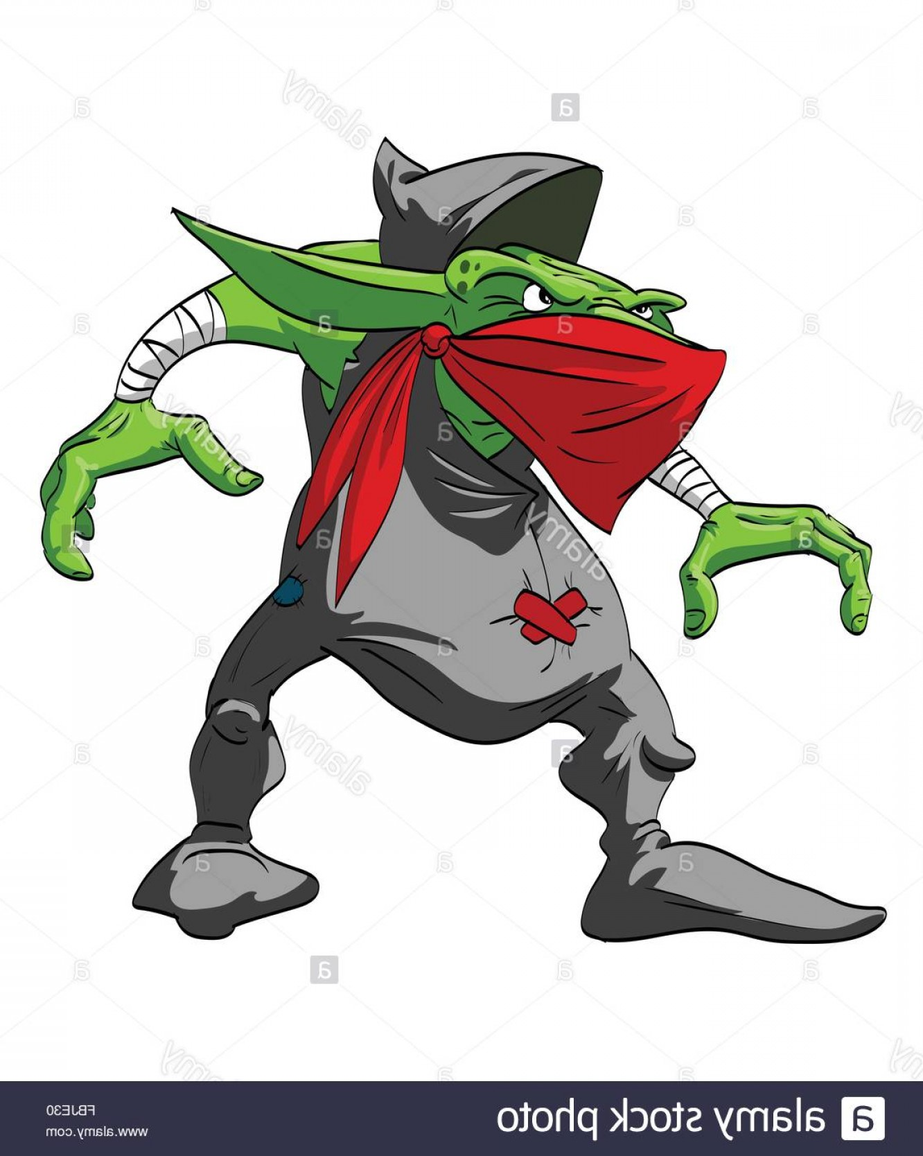 Spawn Vector: Stock Photo Colorful Vector Illustration Of A Goblin Rogue Or A Thief