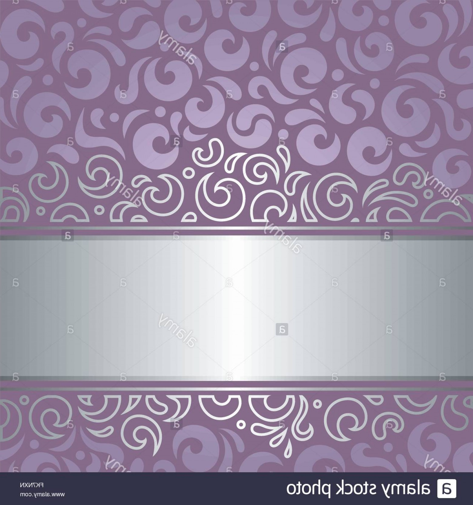 Lilac Wedding Vectors: Stock Photo Decorative Wedding Violet Vector Holiday Background Design