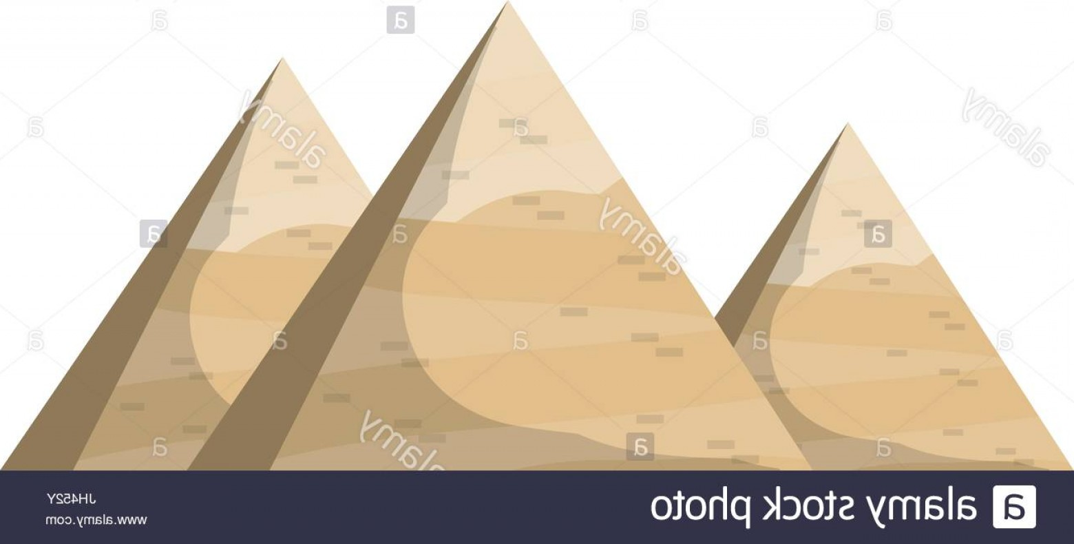 Piramids Vector Art: Stock Photo Egyptian Pyramids Symbol Icon Vector Illustration Graphic Design