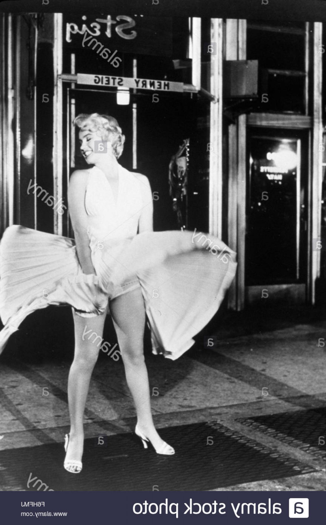 Marilyn Monroe Dress Vector: Stock Photo Film Title Seven Year Itch Director Billy Wilder Studio Fox Pictured