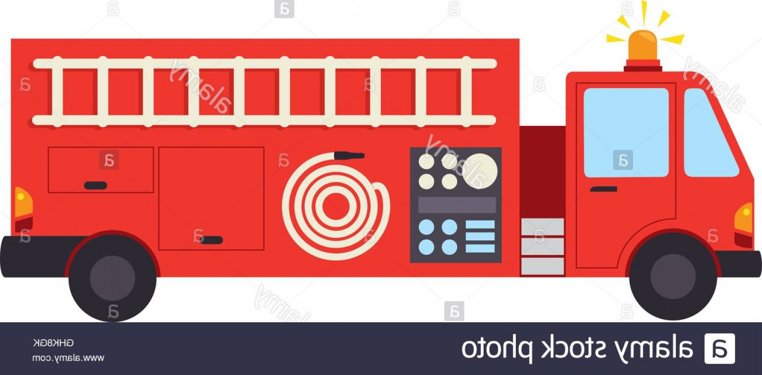 Fire Truck Vector Art: Stock Photo Fire Truck Department Icon Vector Graphic