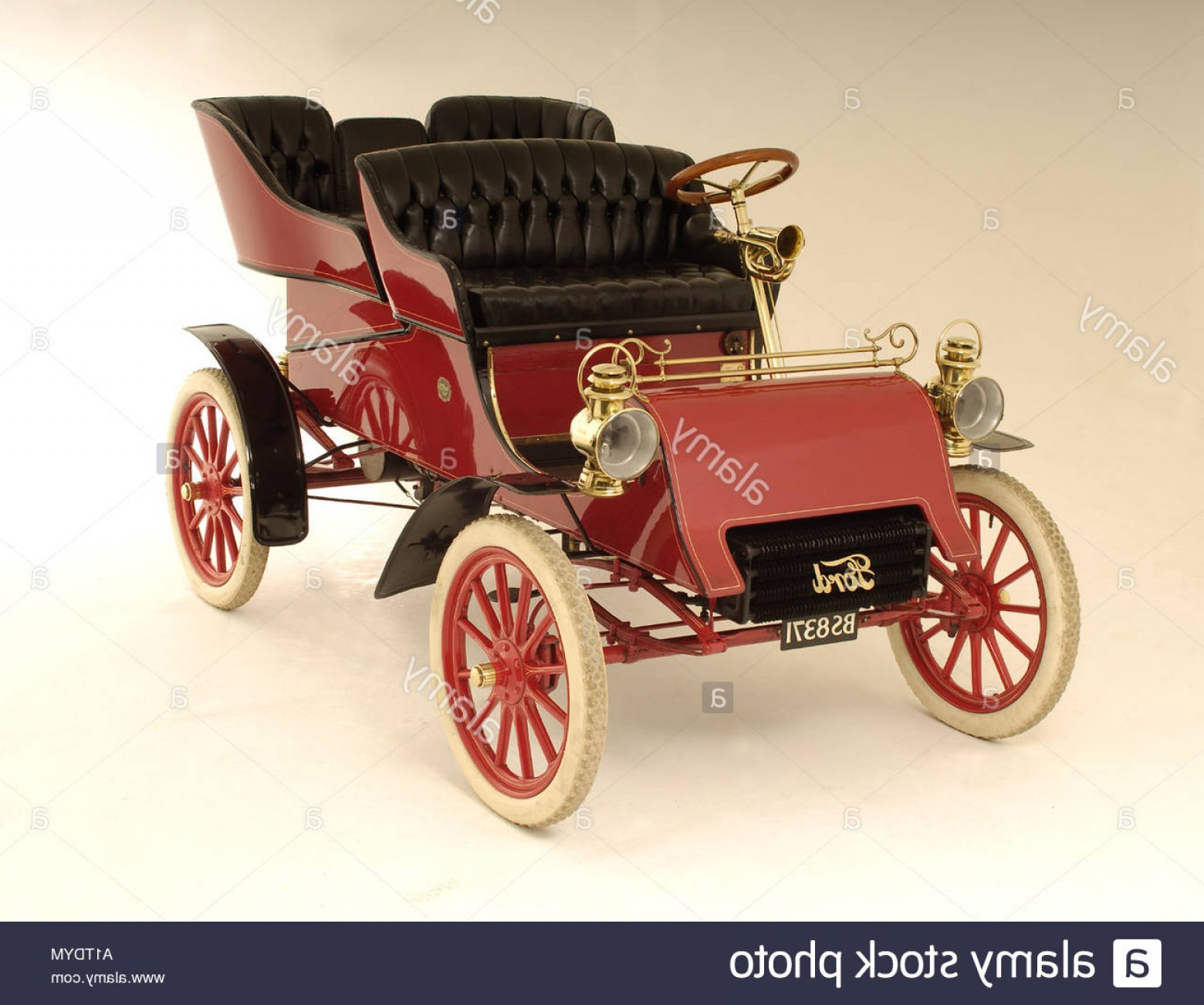 1903 Ford Motor Company Vector Art: Stock Photo Ford Model A
