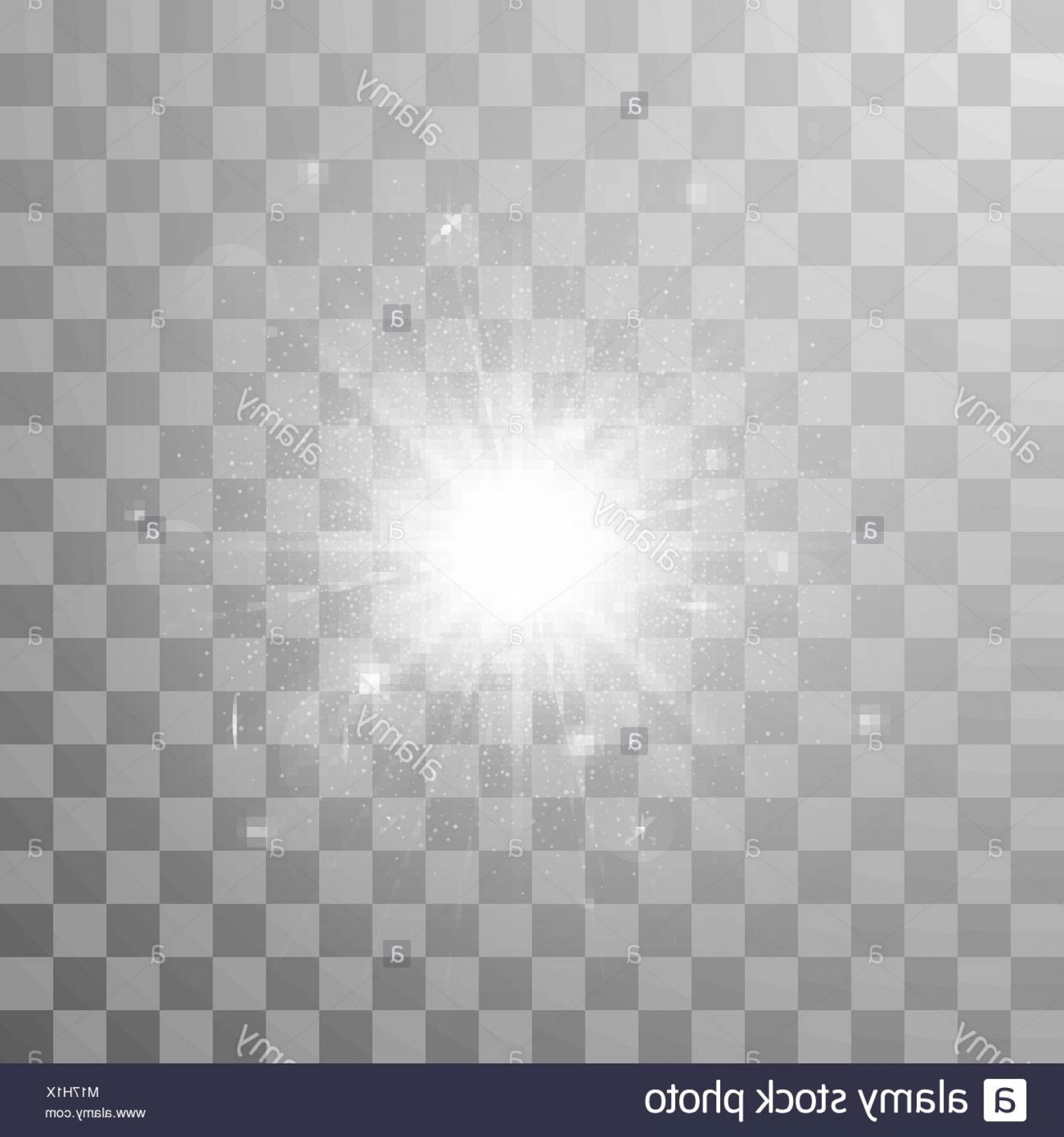 Sparkle Burst Vector: Stock Photo Glow Light Effect Star Burst With Sparkles Vector Illustration In
