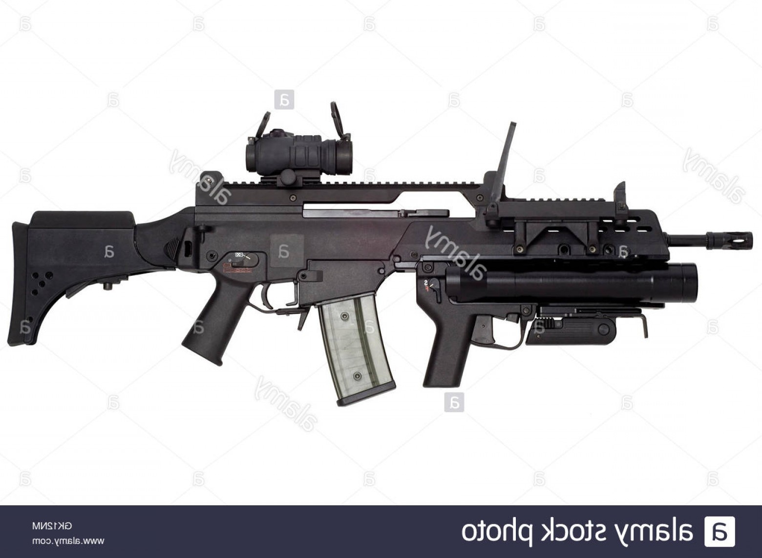 Nato Assault Rifles Vector Graphics: Stock Photo Gun Military Nato G War Weapon Automatic Arm Arms Attack Automatic