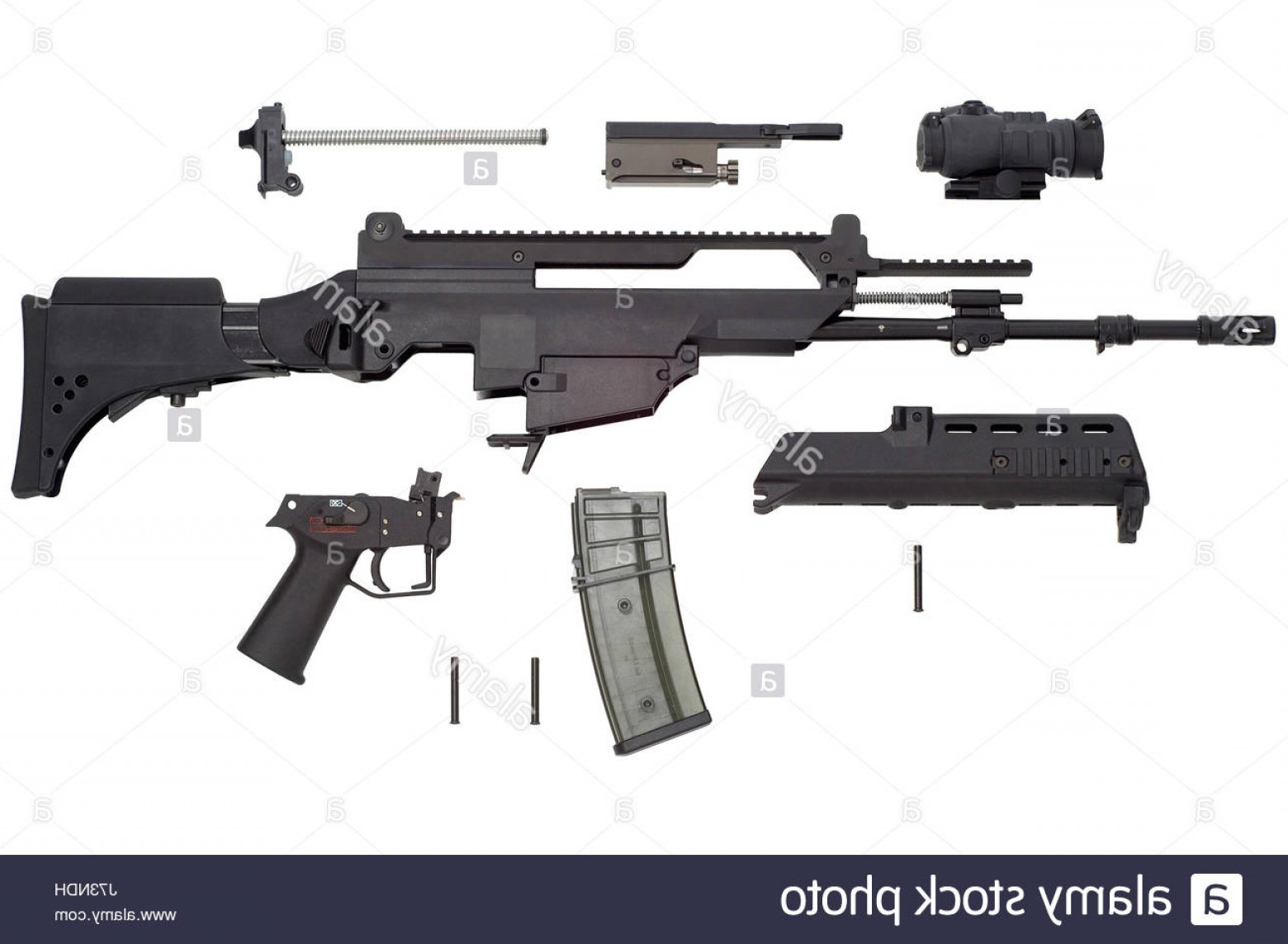 Nato Assault Rifles Vector Graphics: Stock Photo Gun Military Nato G War Weapon Automatic Army Arms Attack Automatic