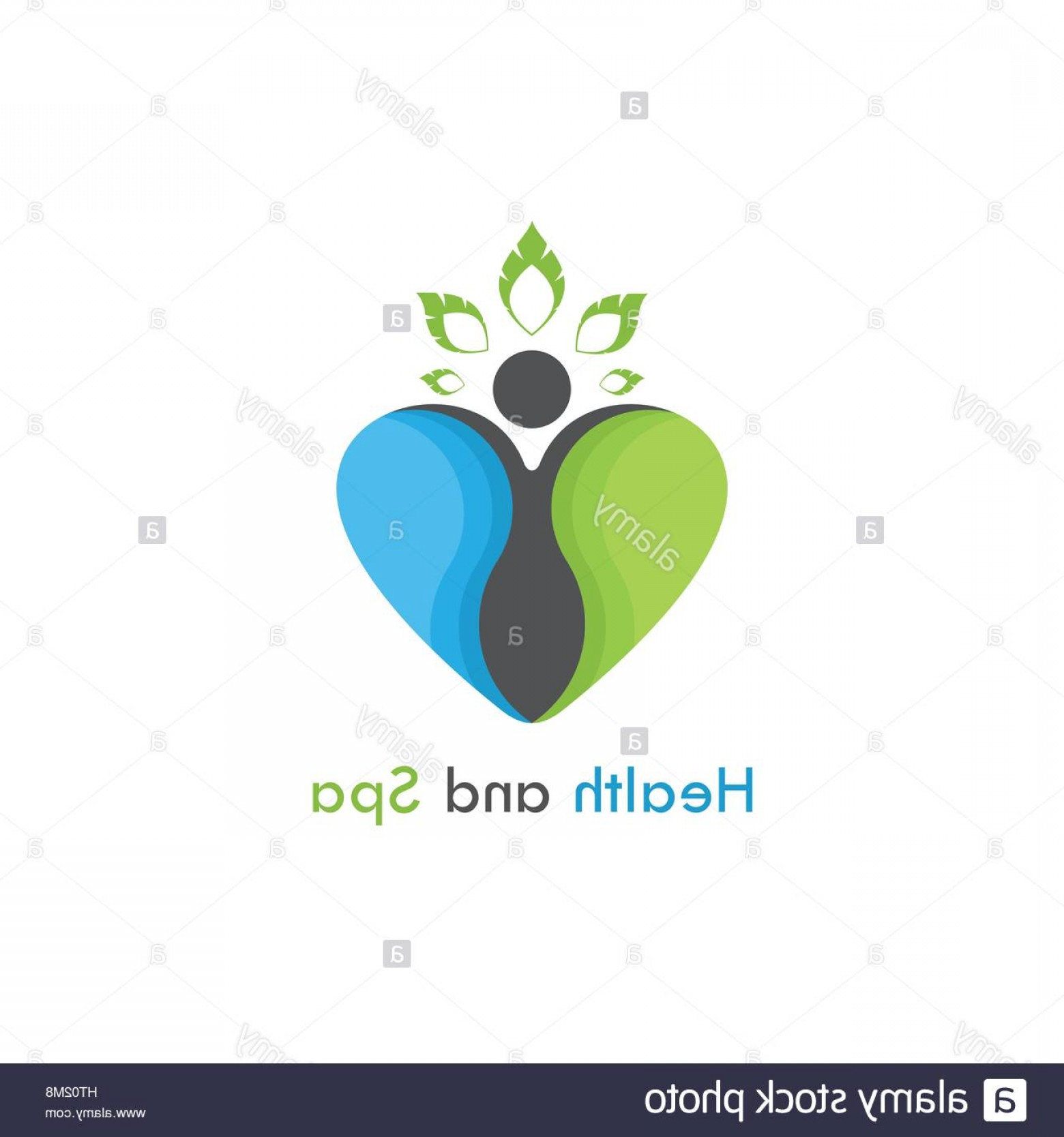 Health Vector Logo: Stock Photo Health Spa Vector Logo Design Templatehealthcare Medical Symbol With