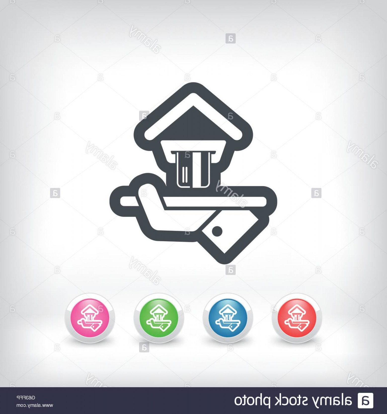 Vector Cards Accepted: Stock Photo Hotel Icon Credit Cards Accepted