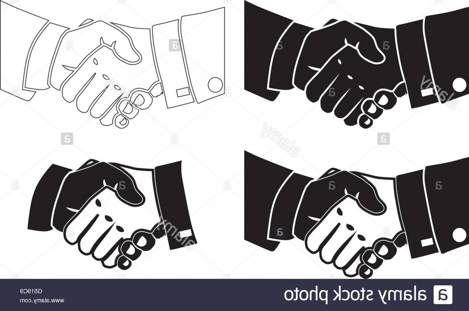Handshake Clip Art Vector: Stock Photo Illustration Icon Vector Shake Hands For The Creative Use In Graphic