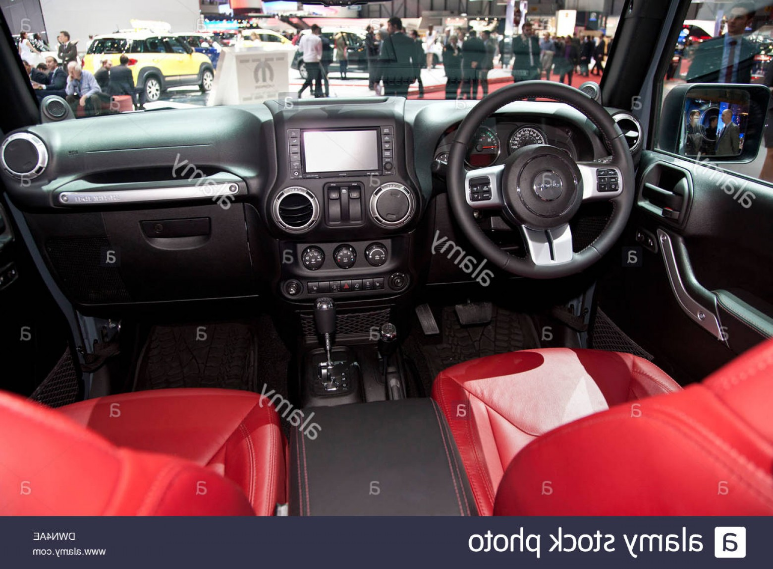 2014 Jeep Wrangler Vector: Stock Photo Jeep Wrangler Rubicon At The Th Geneva International Motor Show