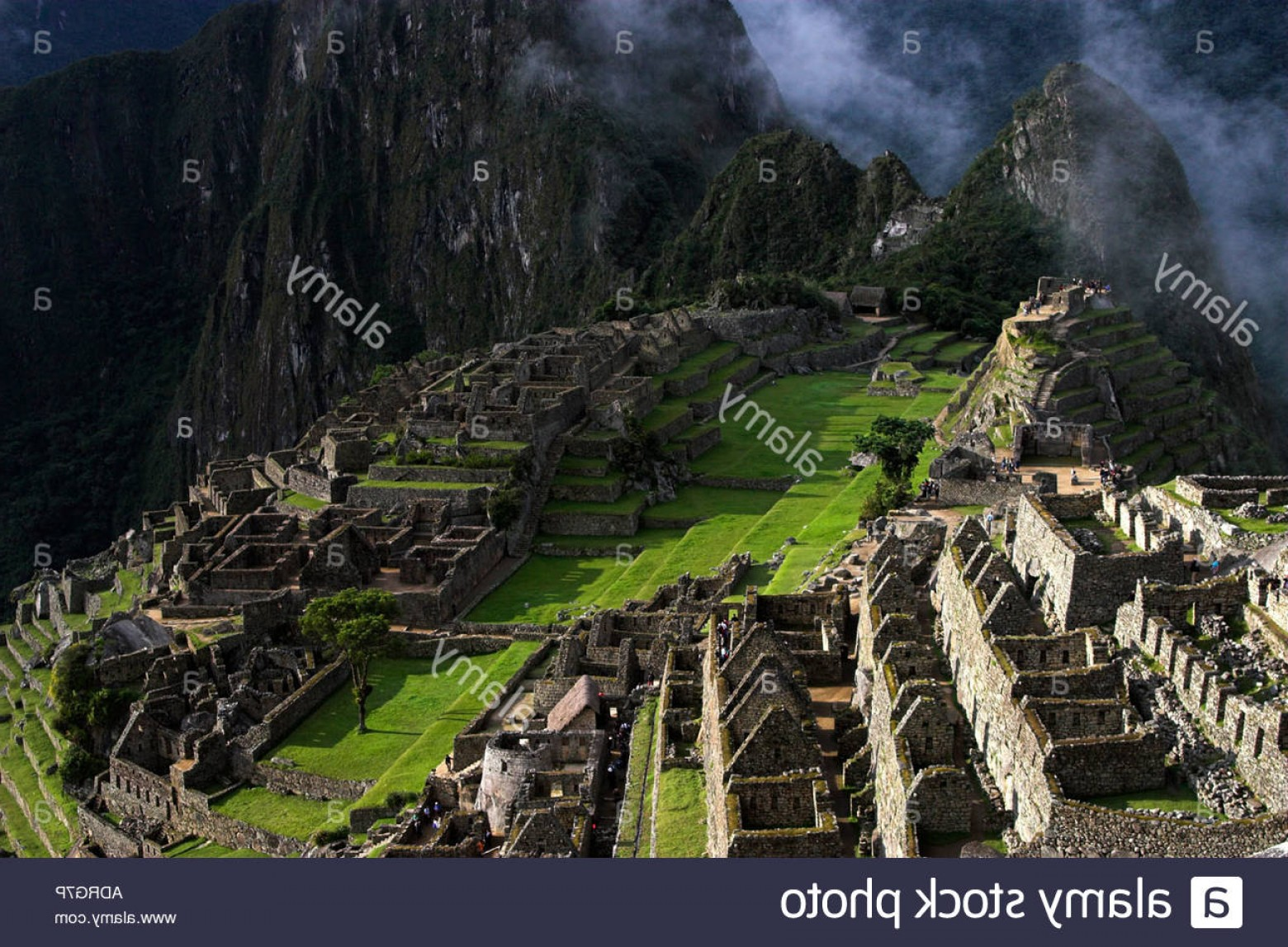 Vector South America Ancient Ruins: Stock Photo Machu Picchu Lost City Of The Incas Peru View Over Ancient Ruins South