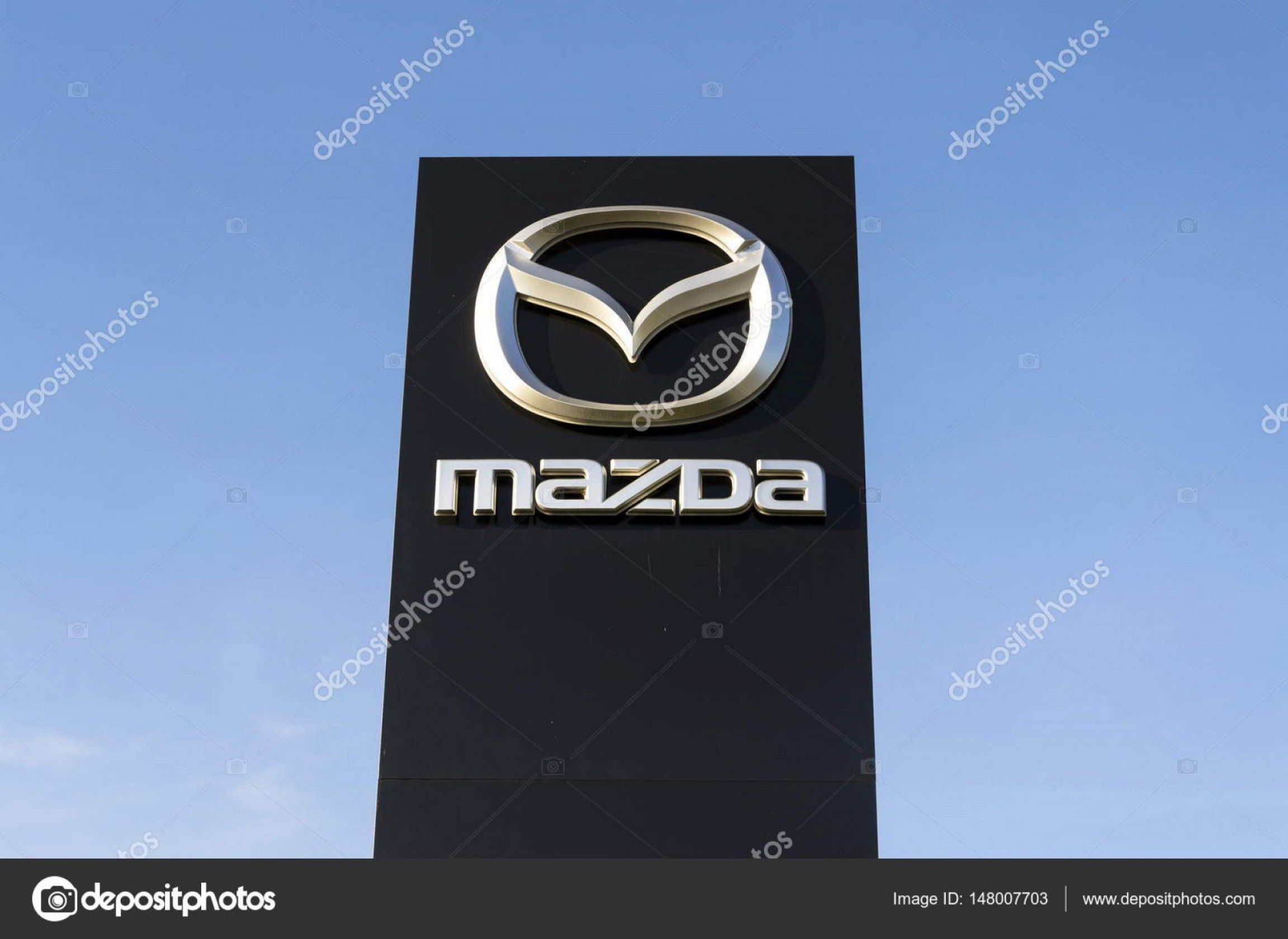 Mazda Logo Vector: Stock Photo Mazda Car Company Logo In