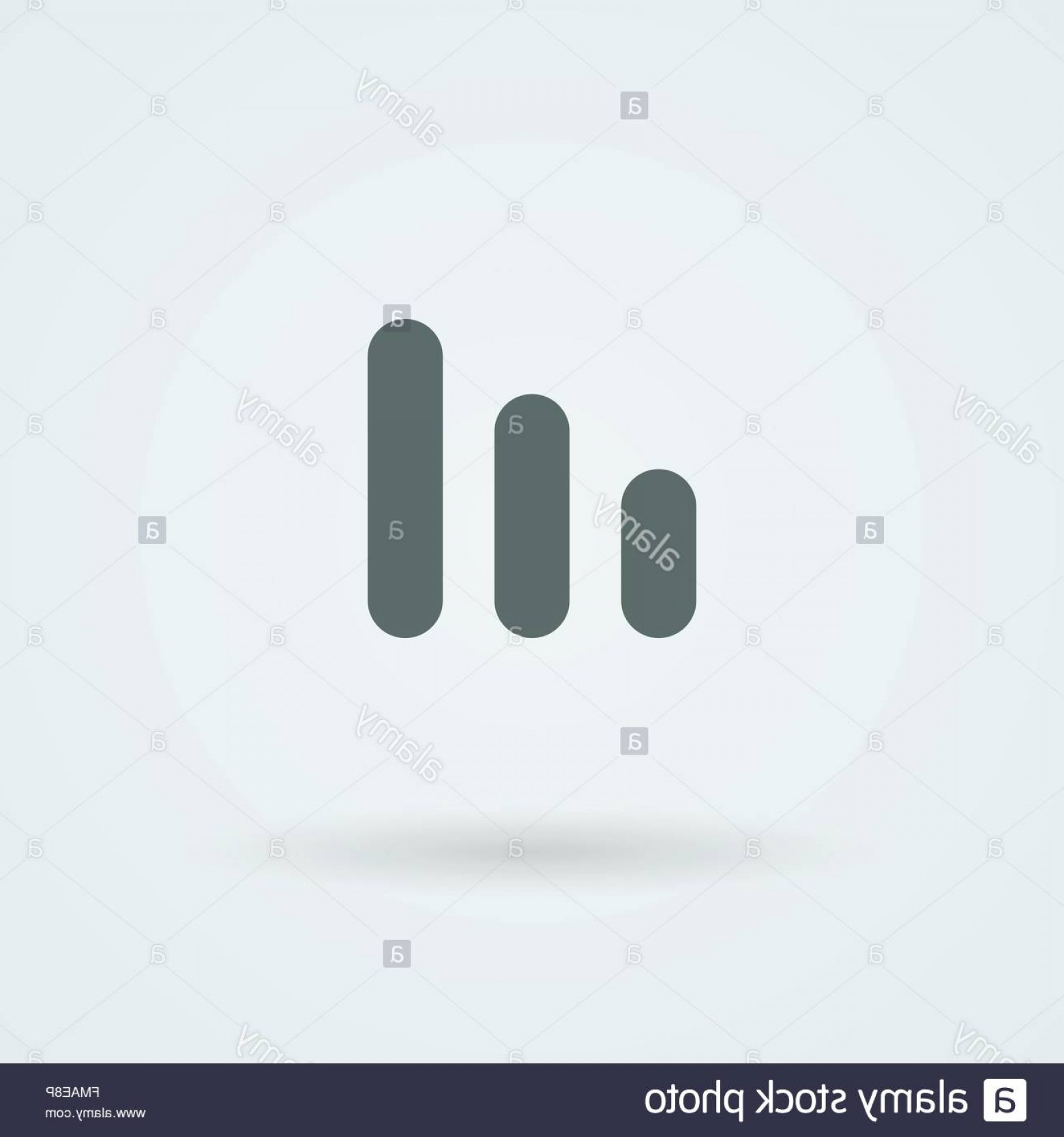 Equalizer Vector Icons: Stock Photo Minimalistic Vector Icons Volume Or Equalizer