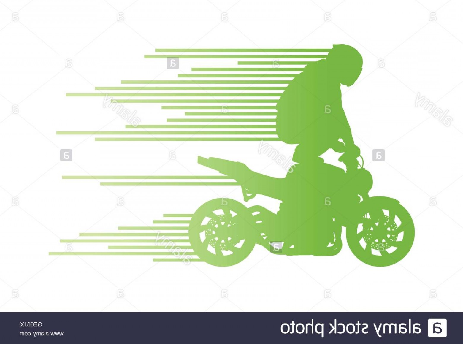Dirt Bike Gas Can Vector: Stock Photo Motorbike Rider Vector Background Trick Stunt Illustration Concept