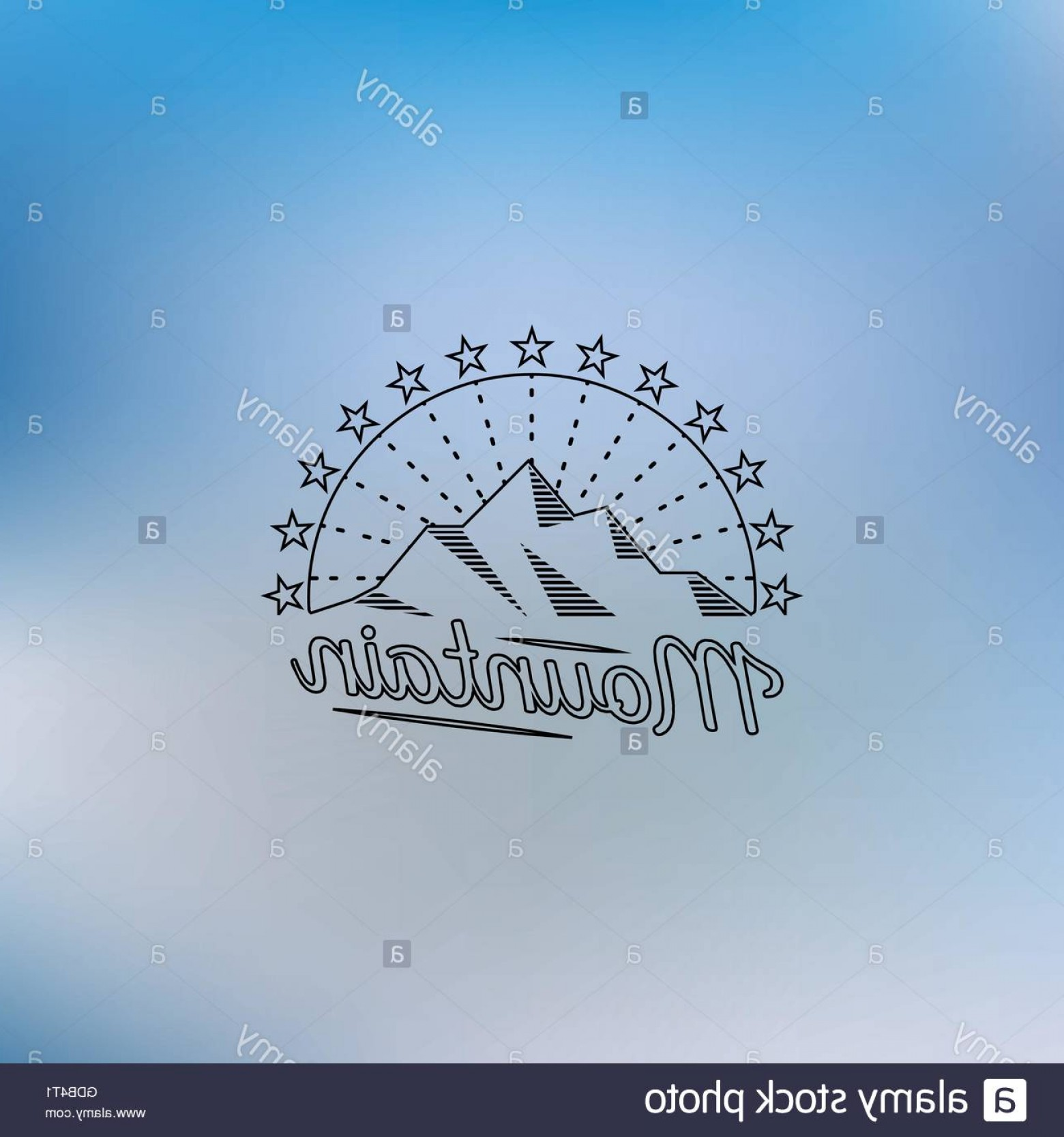 Hipster Logo Vectors Mountain: Stock Photo Mountain Lineart Logo Mountain Hipster Logo Mountain Logo Mountain