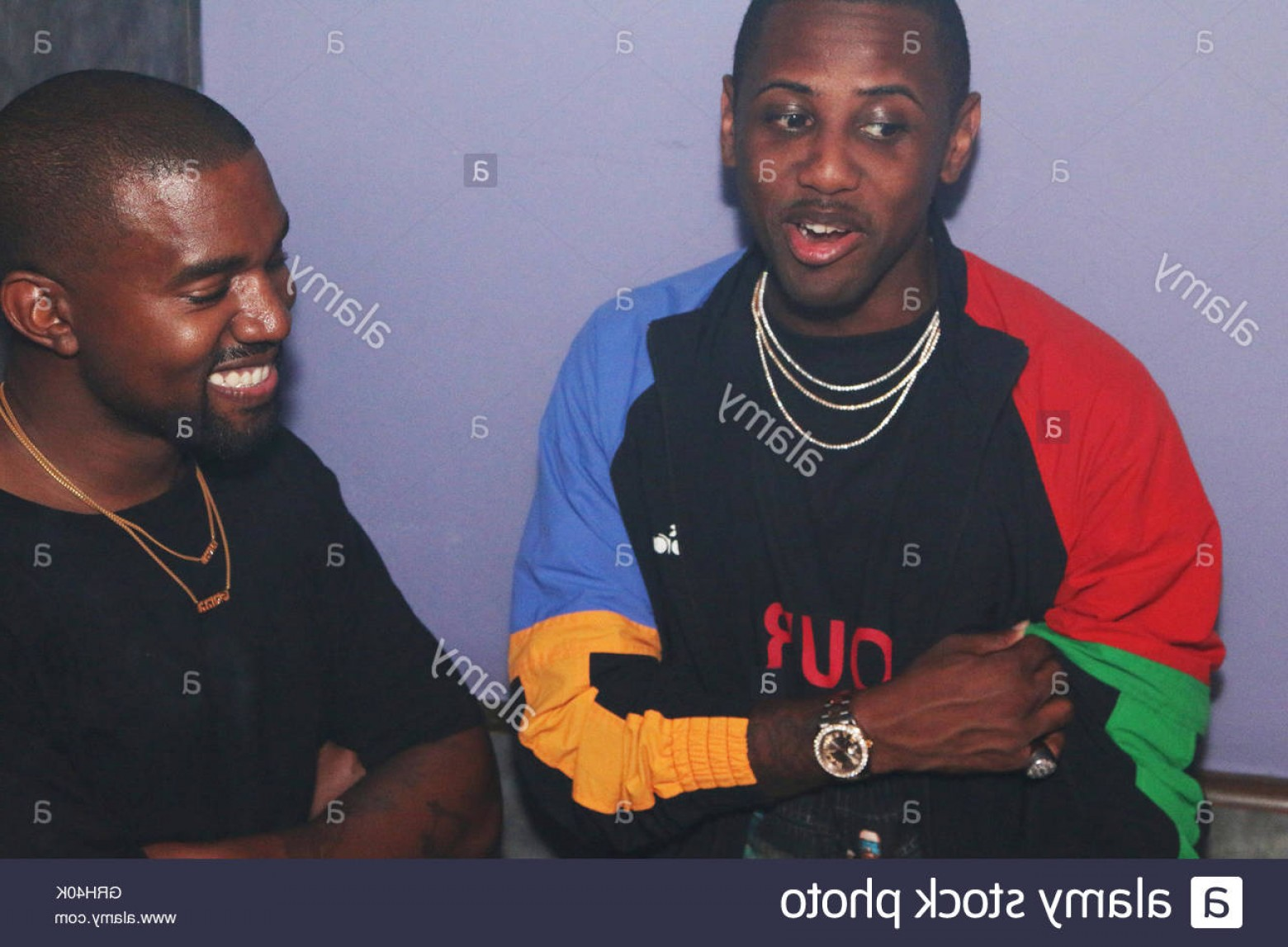 Kanye West Vector Paintig: Stock Photo New York Ny September Fabolous Kanye West Backstage At The