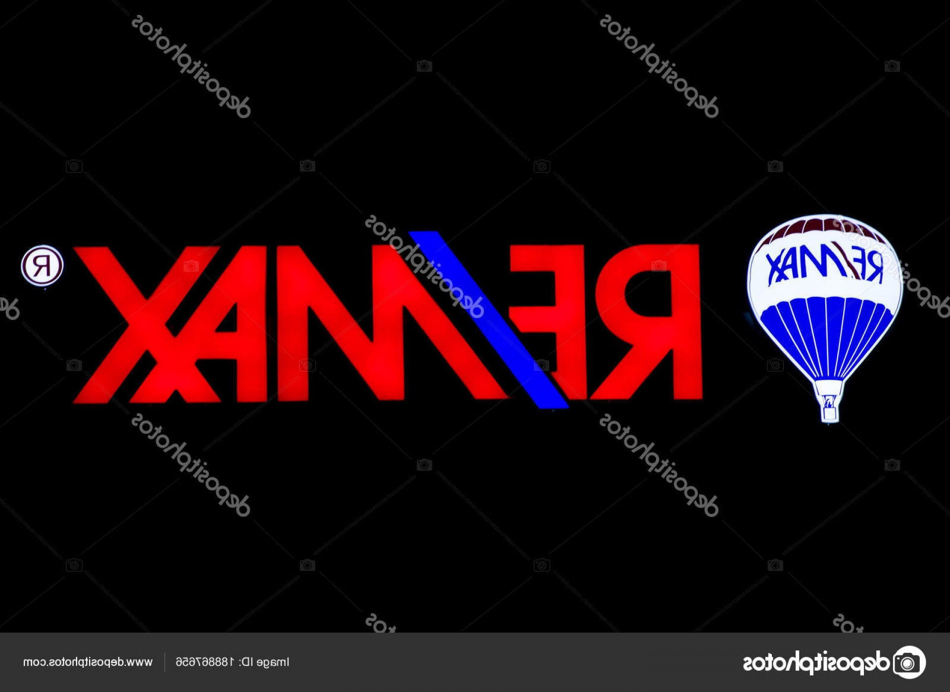 RE MAX Vector: Stock Photo New York Usa August
