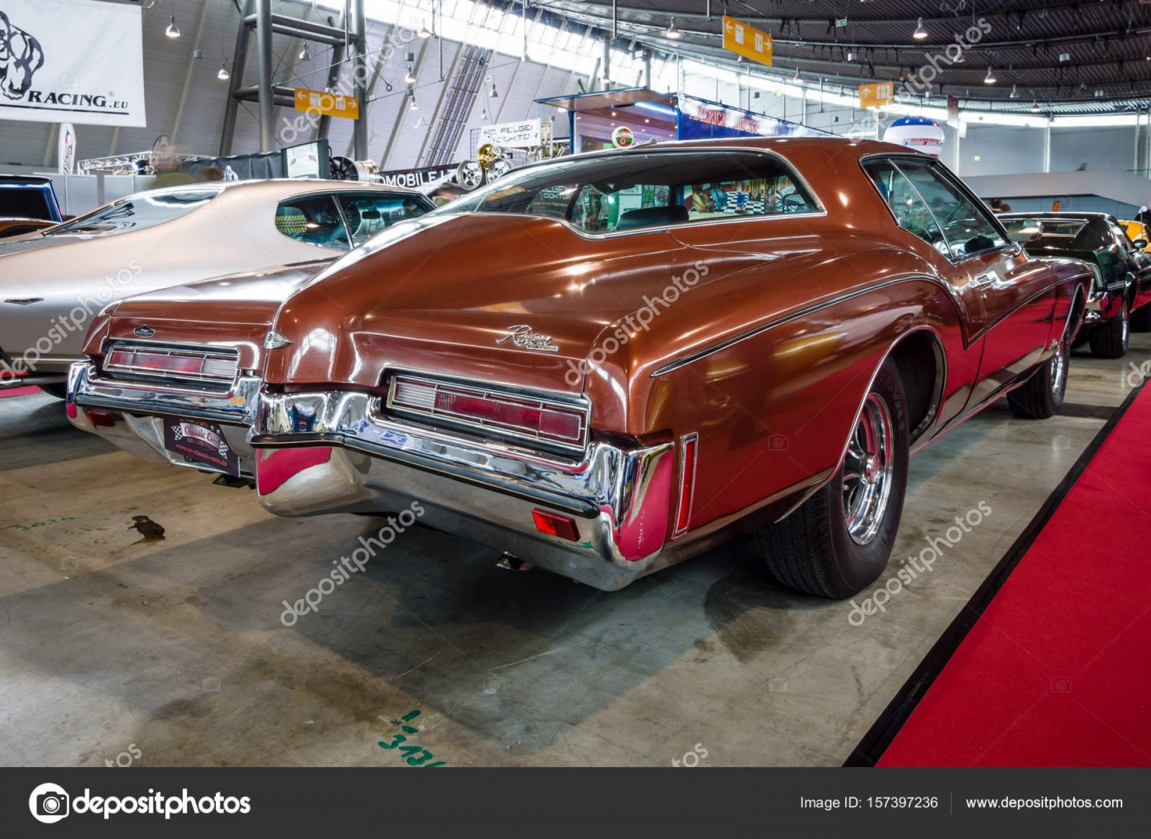Vector Drawings Of 1966 Riviera: Stock Photo Personal Luxury Car Buick Riviera