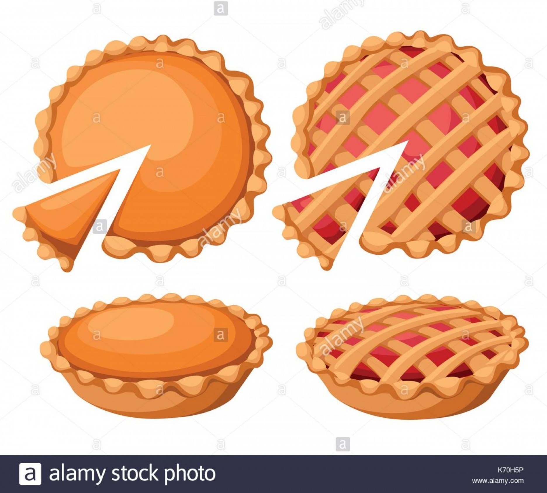 Vectors Holiday Baking: Stock Photo Pies Vector Illustrationthanksgiving And Holiday Pumpkin Pie Happy