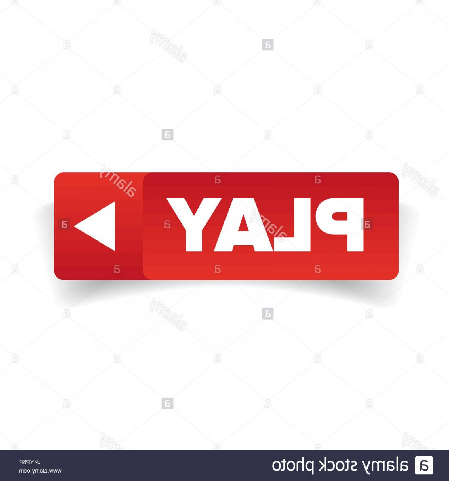 YouTube RedVector Real Life: Stock Photo Play Button Red Vector
