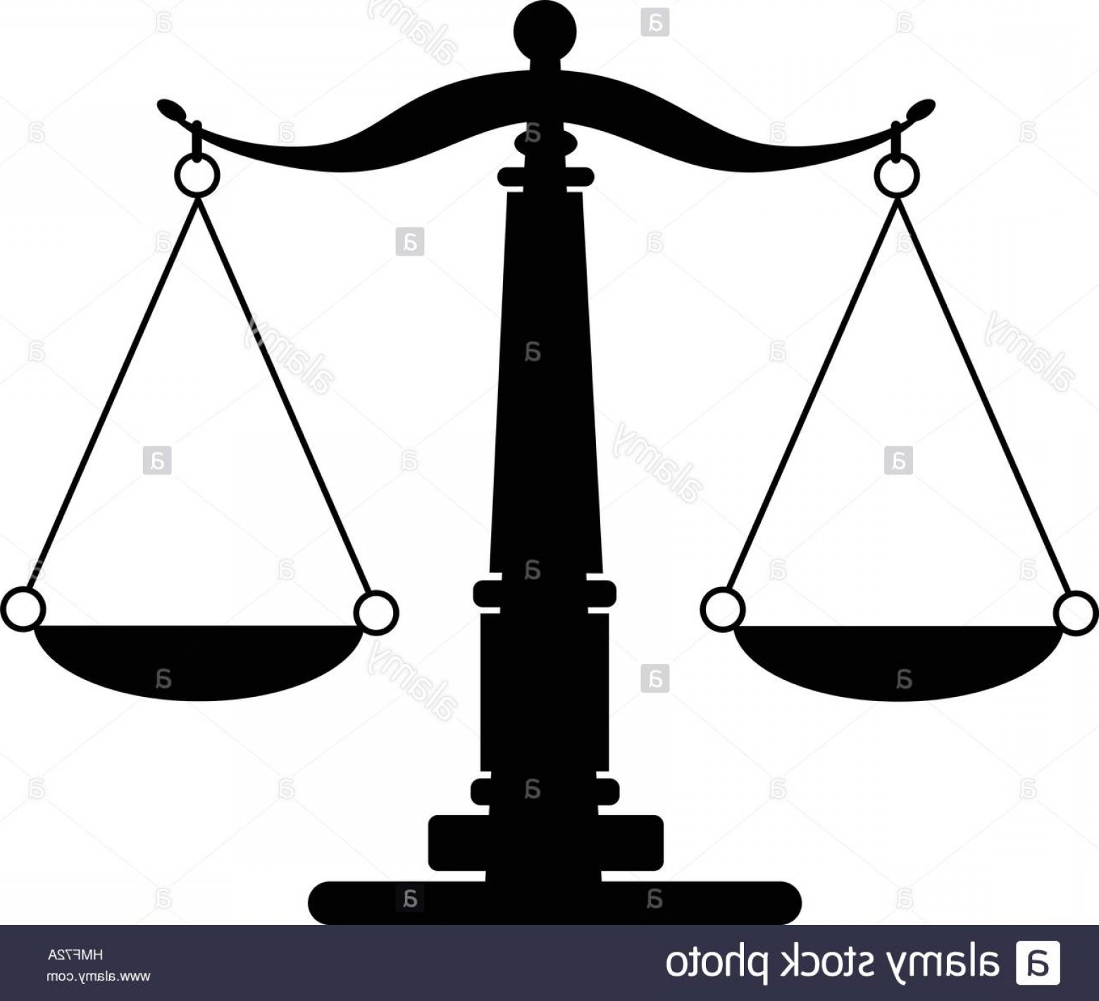 Scales Of Justice Vector: Stock Photo Scales Of Justice Vector Eps