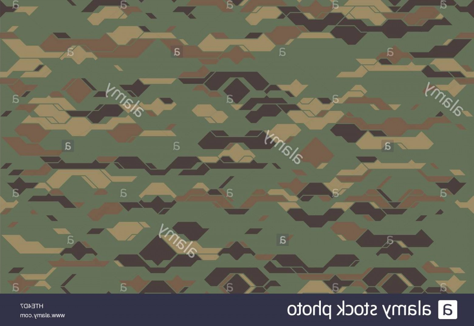 Army Camouflage Pattern Vector: Stock Photo Seamless Modern Army Camouflage Fabric Texture Abstract Vector Futuristic